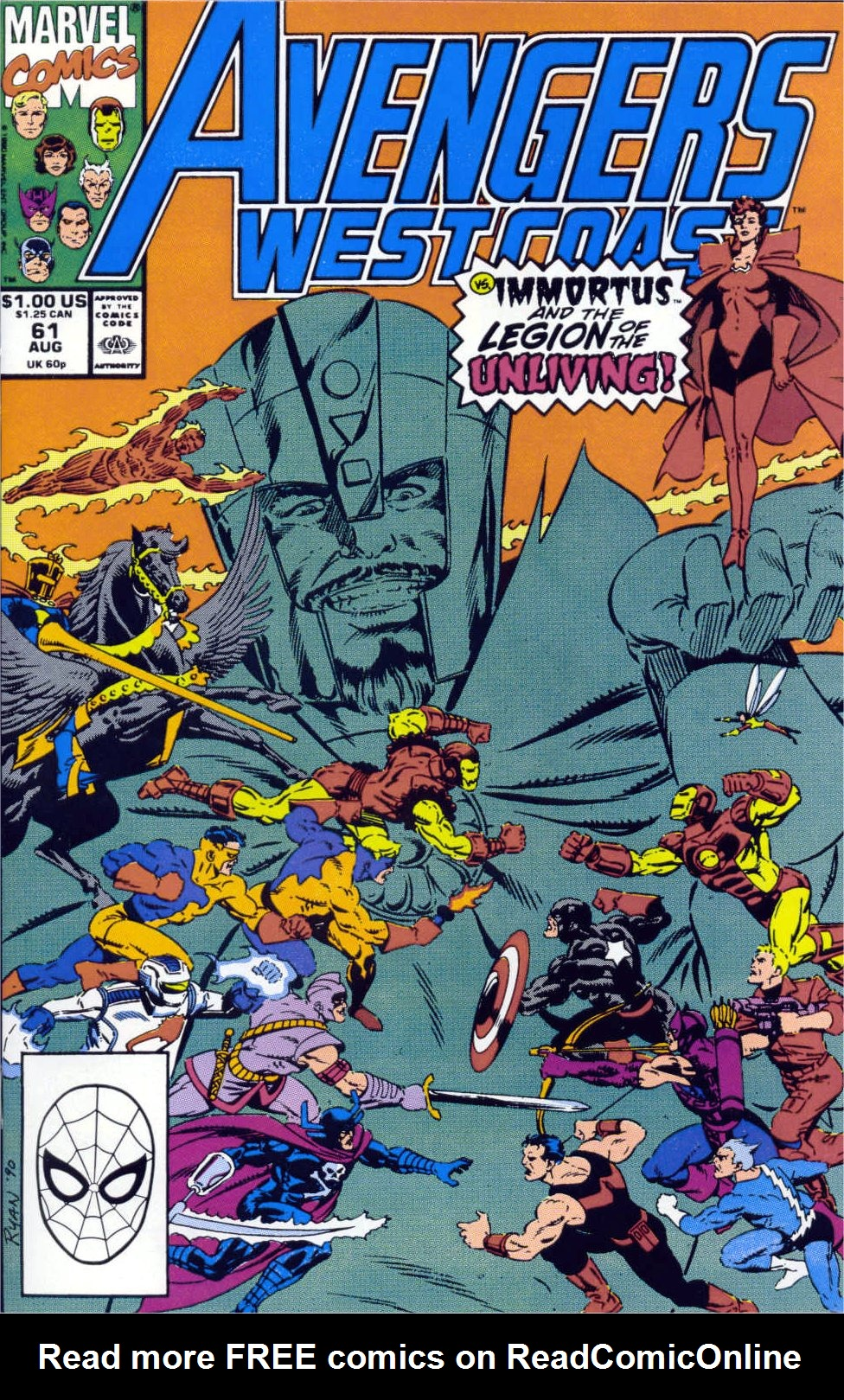 Avengers West Coast (1989) 61 Page 1