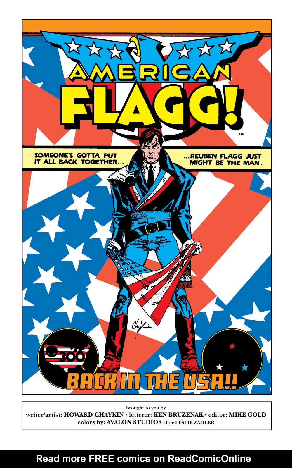 American Flagg! issue Definitive Collection (Part 1) - Page 11