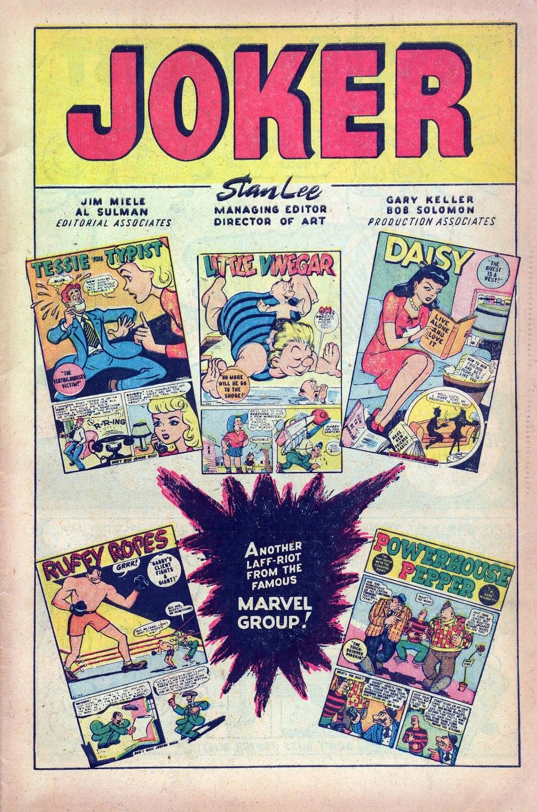 Read online Joker Comics comic -  Issue #27 - 3