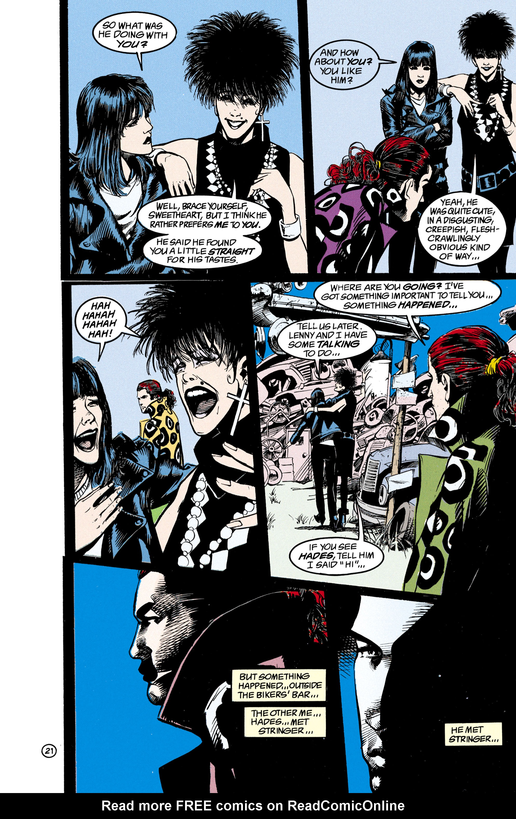 Read online Shade, the Changing Man comic -  Issue #21 - 22