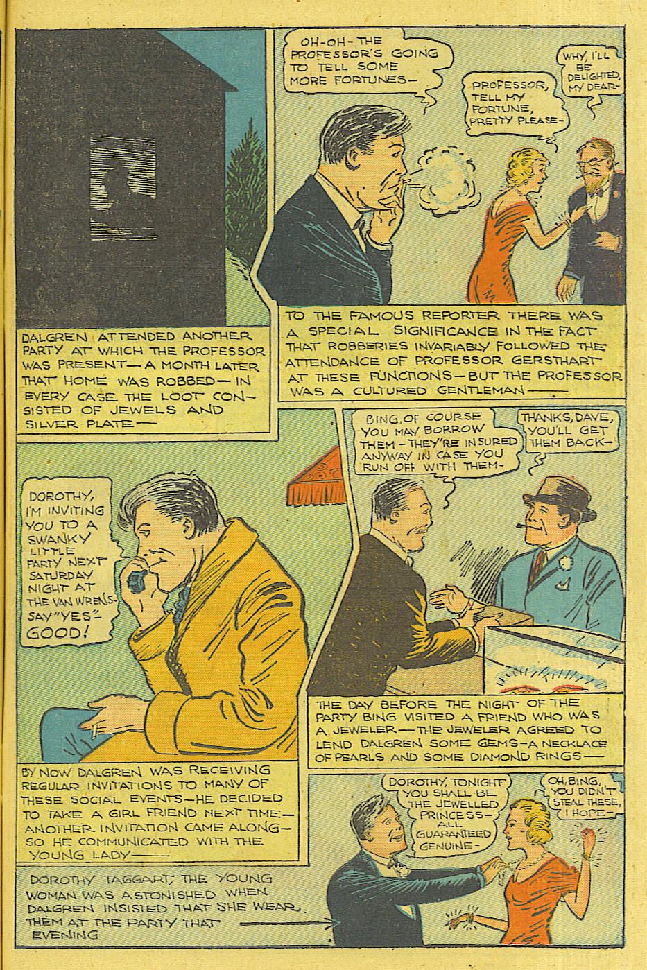 Read online Shadow Comics comic -  Issue #71 - 11