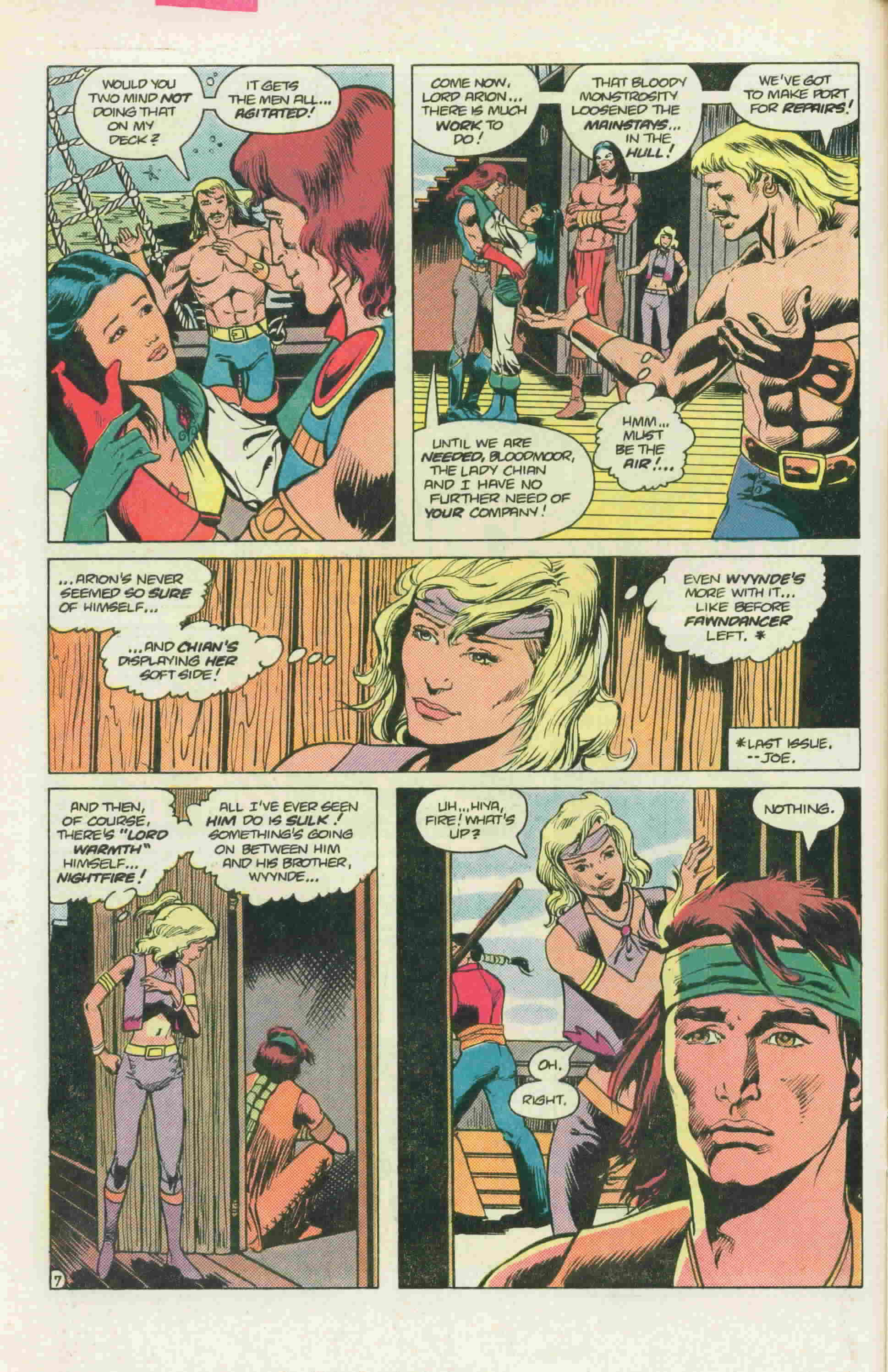 Read online Arion, Lord of Atlantis comic -  Issue #22 - 11
