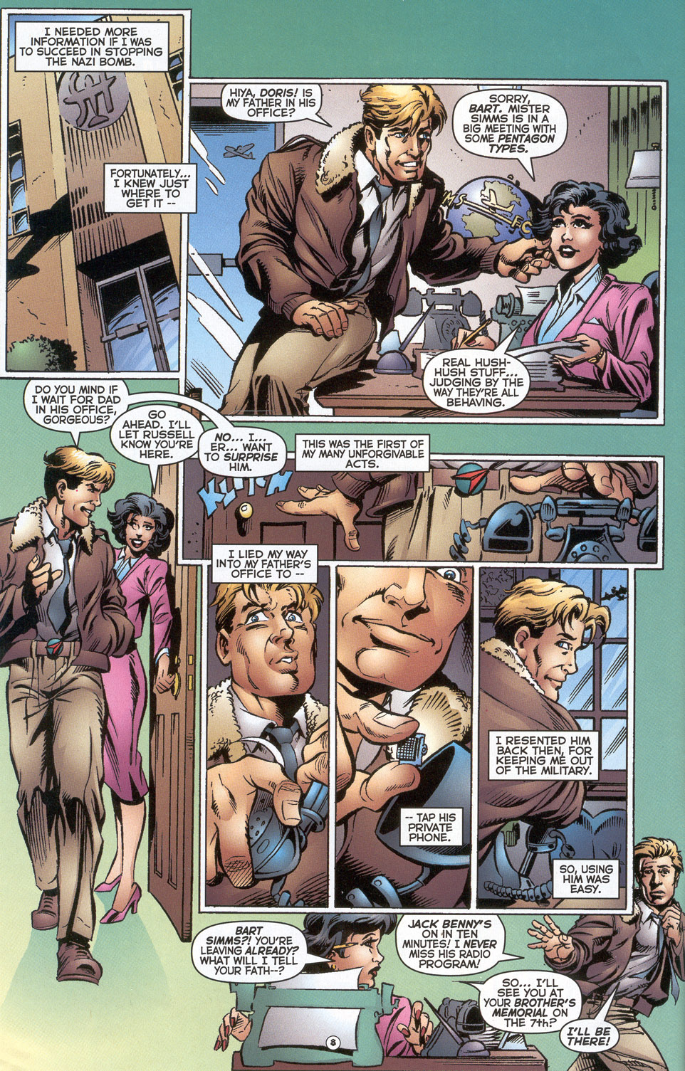 Read online Doctor Tomorrow comic -  Issue #2 - 7
