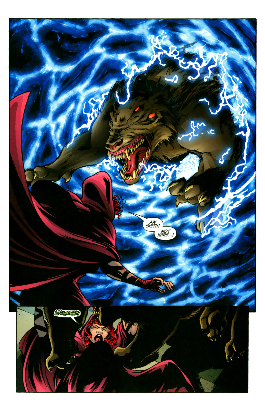 Read online Fallen Angel (2003) comic -  Issue #9 - 11