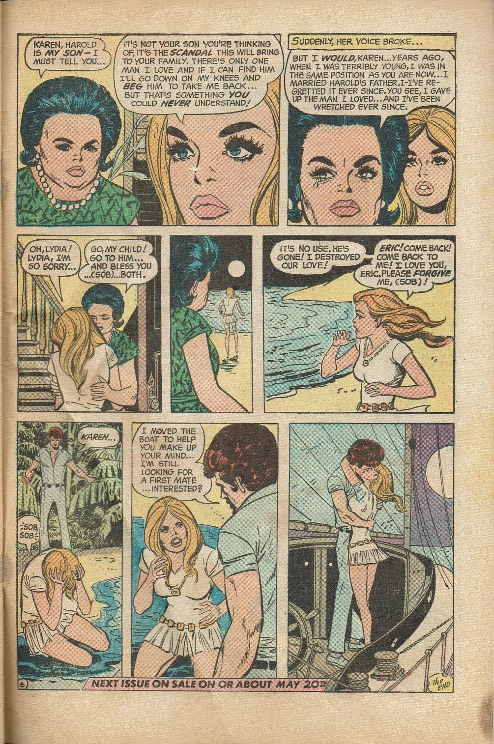 Read online Secret Hearts comic -  Issue #152 - 33