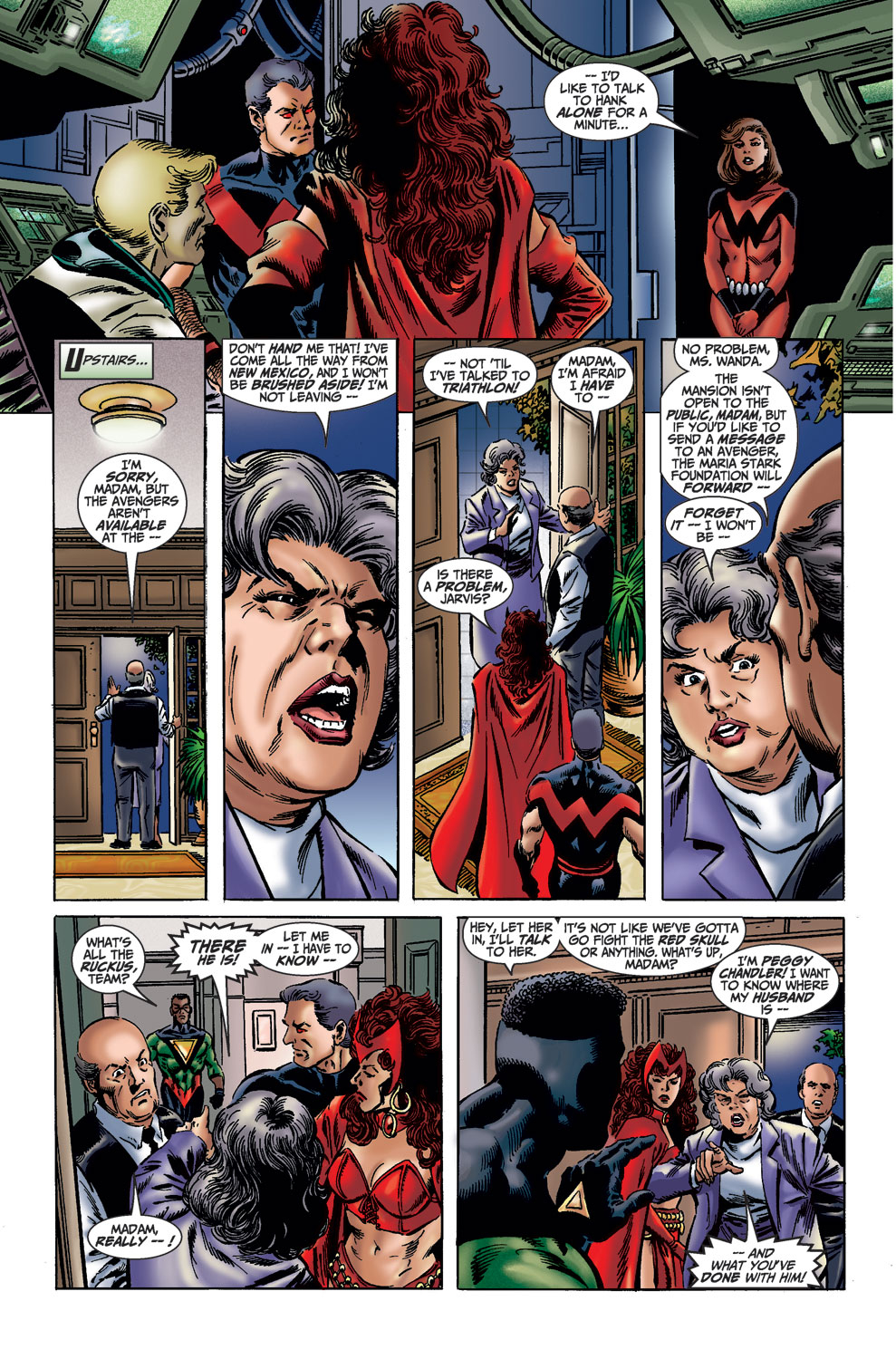 Read online Avengers (1998) comic -  Issue #36 - 8
