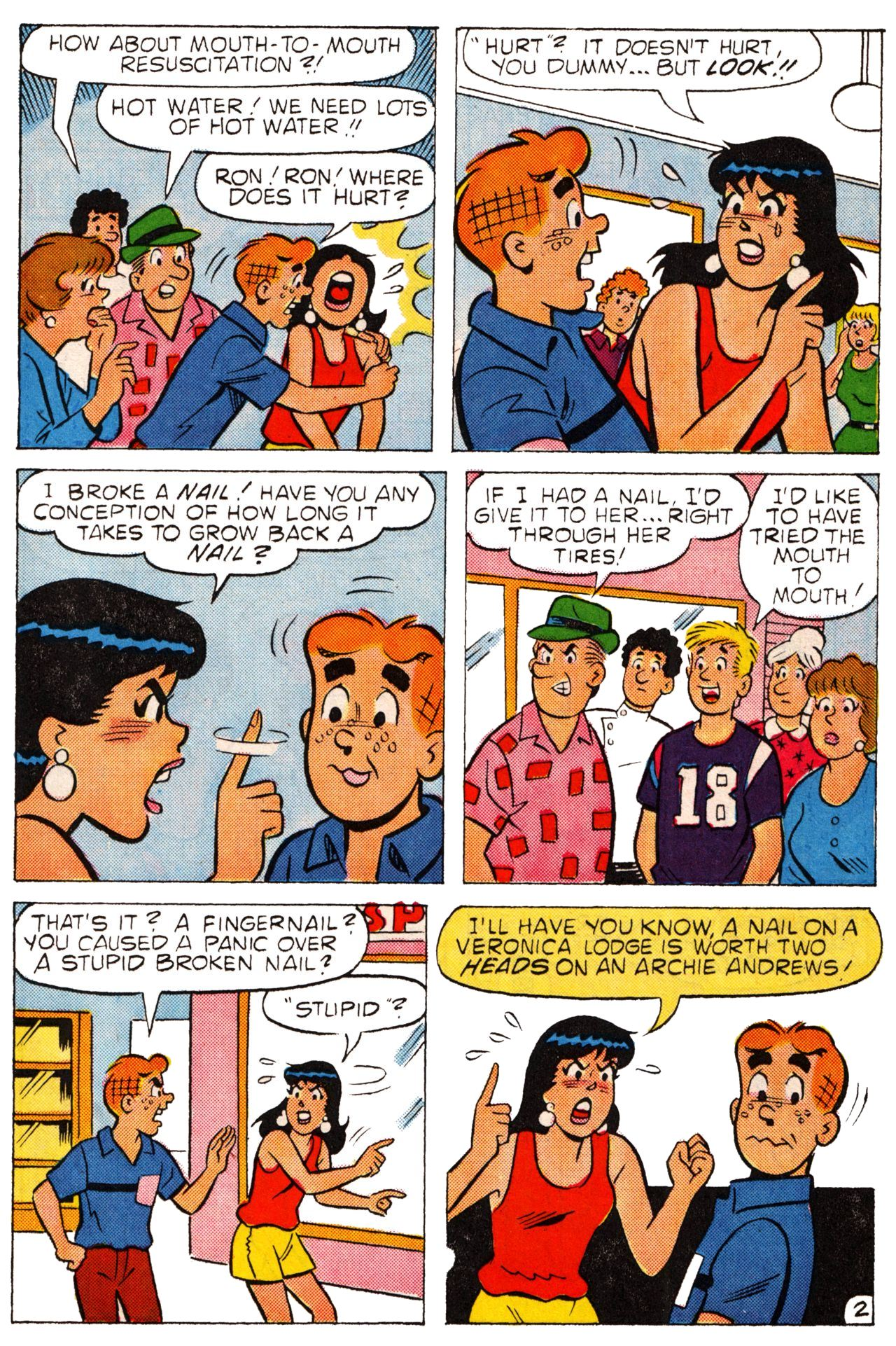 Read online Archie (1960) comic -  Issue #361 - 22