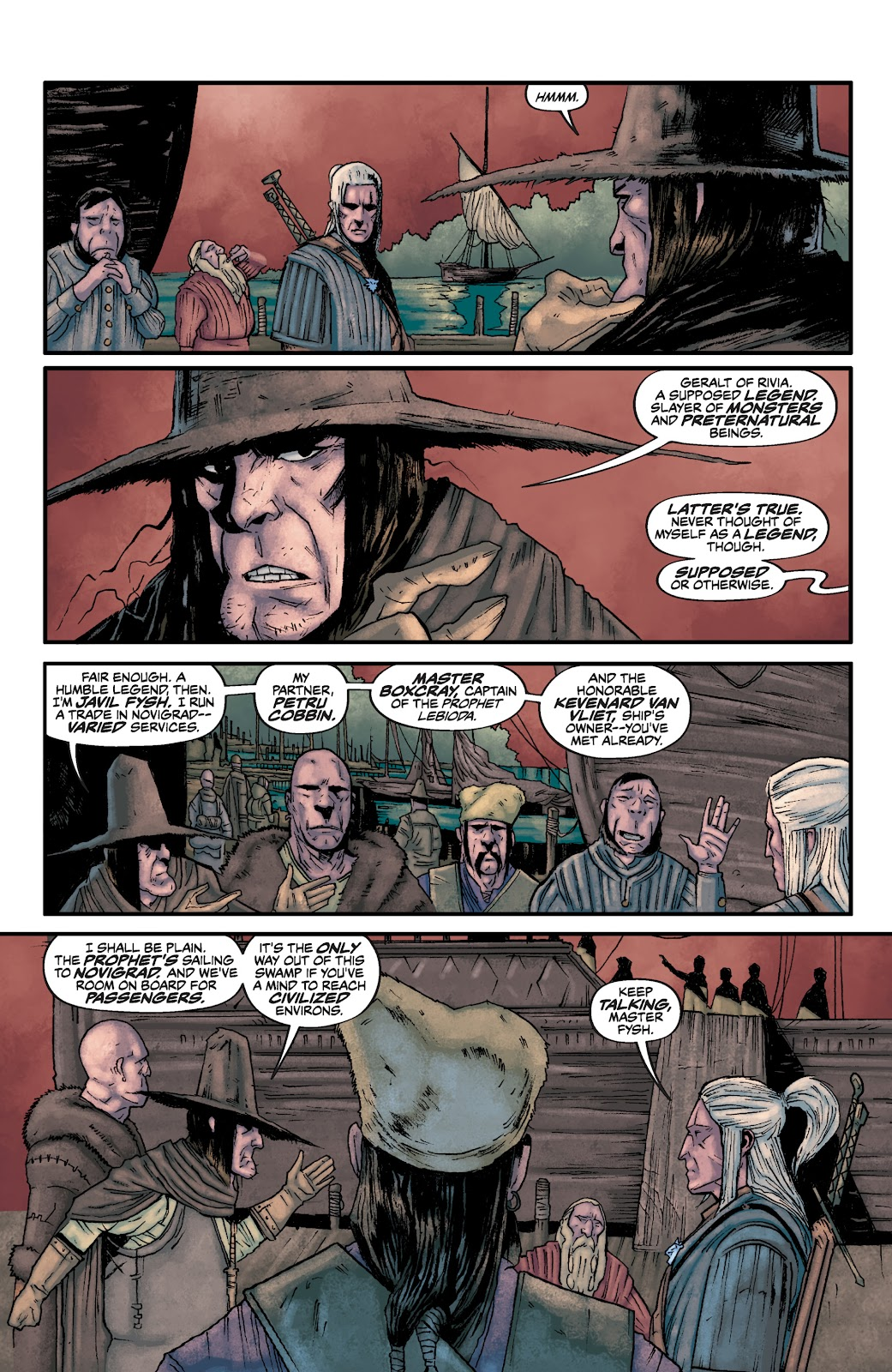 Read online The Witcher Omnibus comic -  Issue # TPB (Part 2) - 37