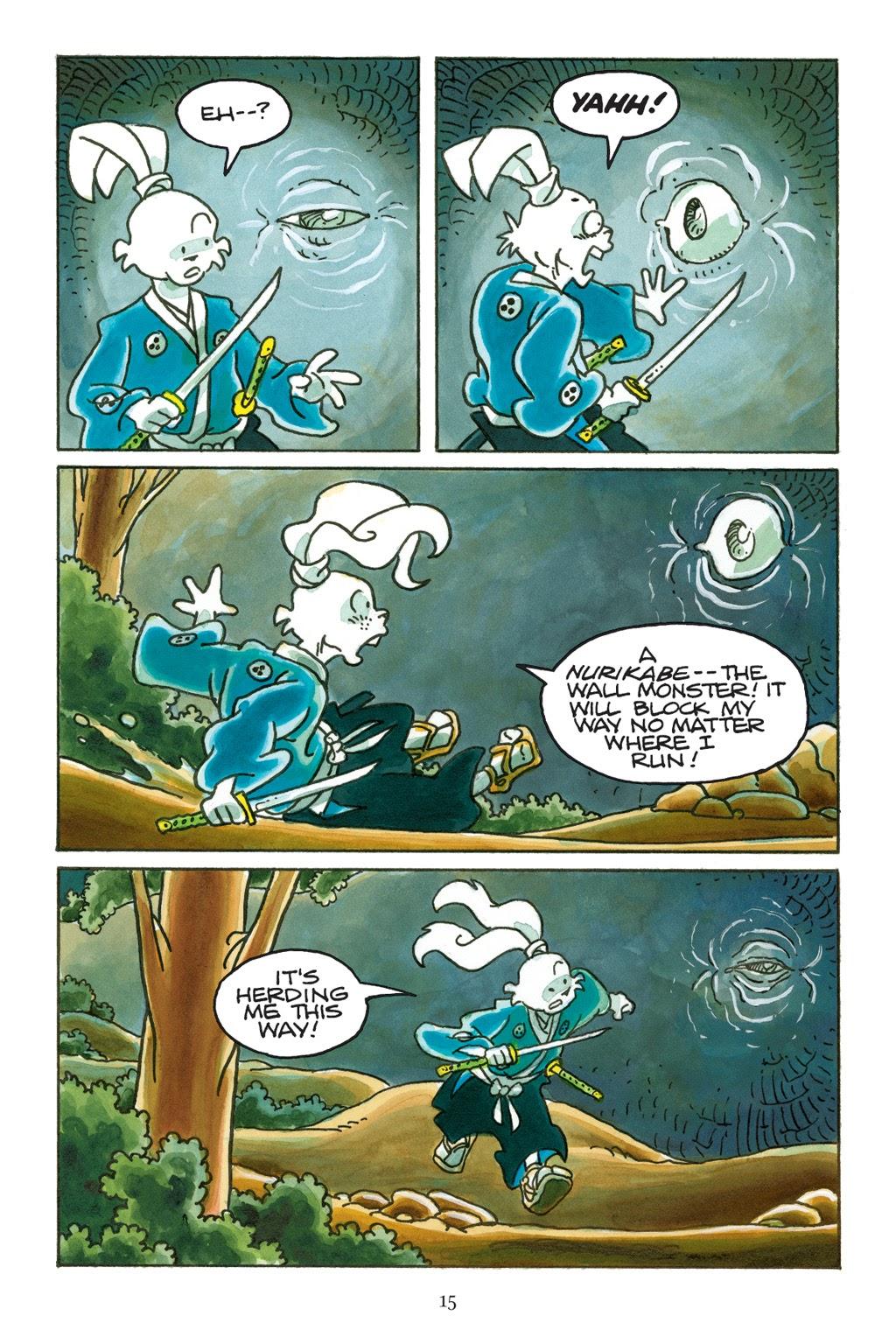 Read online Usagi Yojimbo: Yokai comic -  Issue # Full - 16