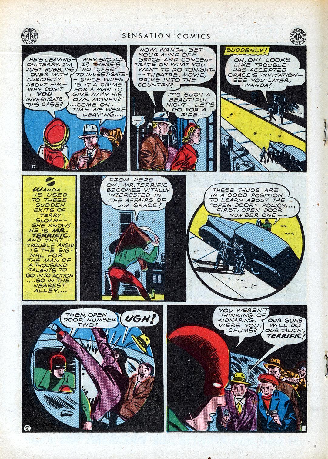 Read online Sensation (Mystery) Comics comic -  Issue #41 - 26