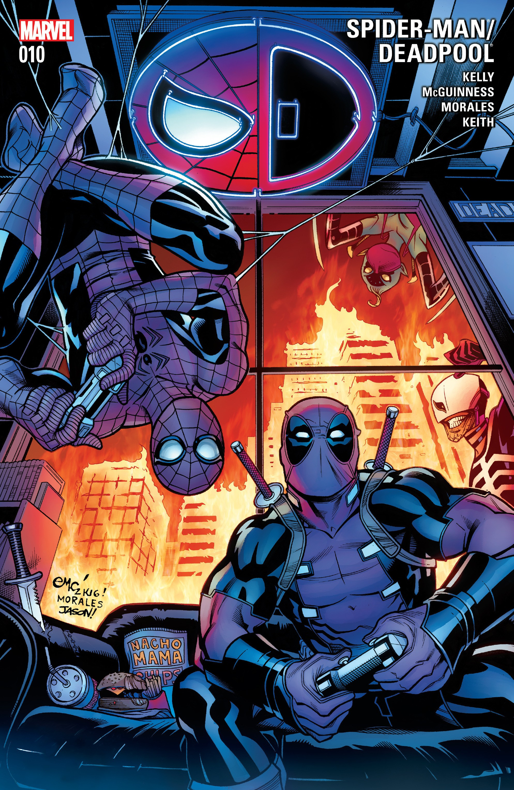 Spider-Man/Deadpool 10 Page 1