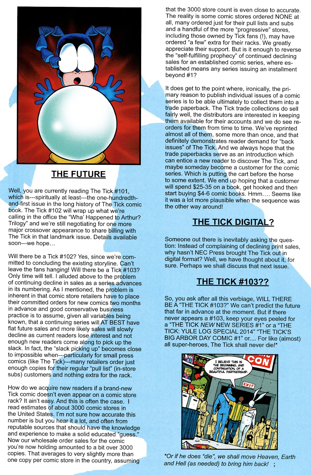 Read online The Tick comic -  Issue #101 - 43
