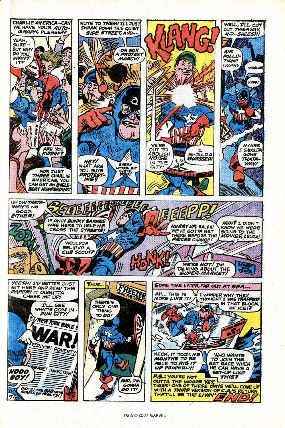 Read online Captain America (1968) comic -  Issue # _Annual 2 - 49