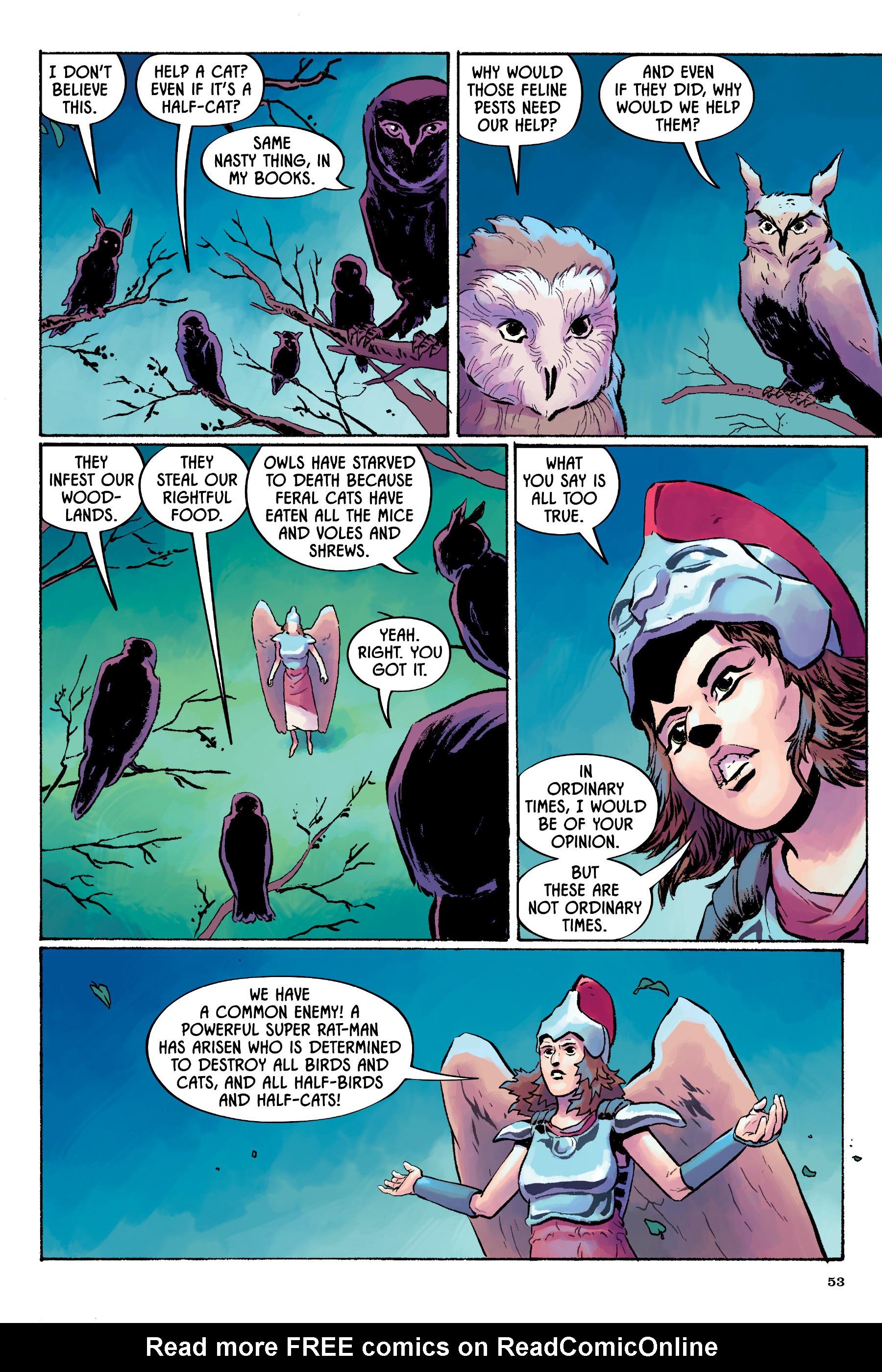 Read online Angel Catbird comic -  Issue # TPB 2 - 54