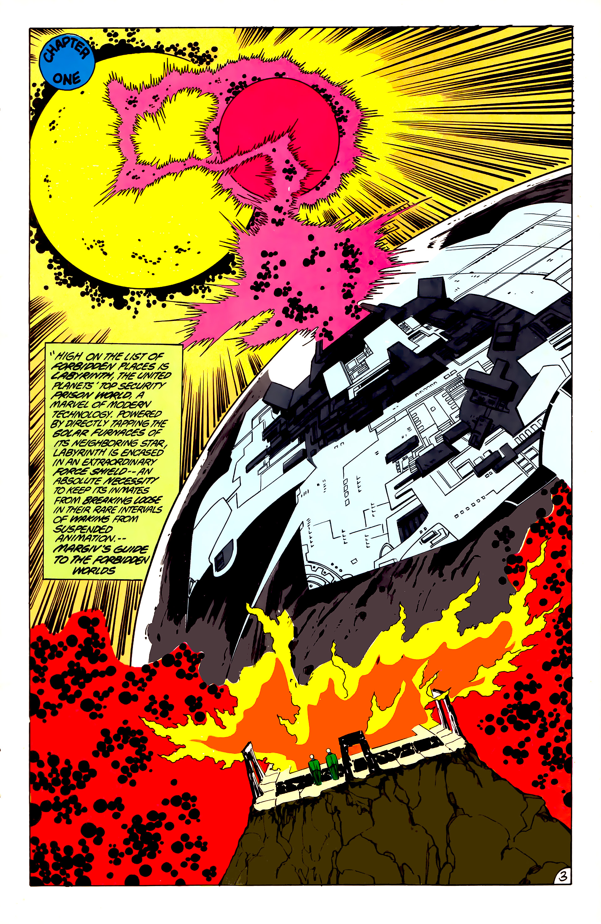 Legion of Super-Heroes (1984) 45 Page 3