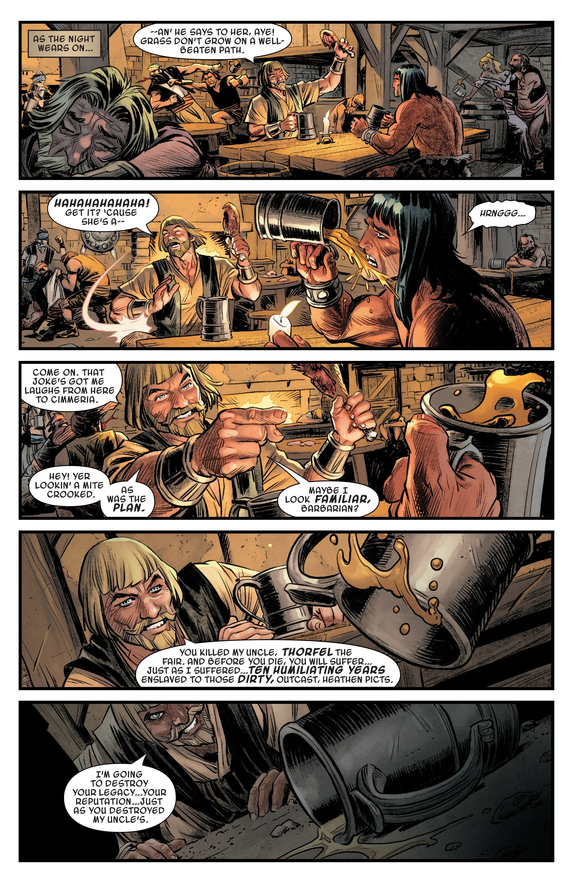 Read online Savage Sword of Conan comic -  Issue #6 - 7