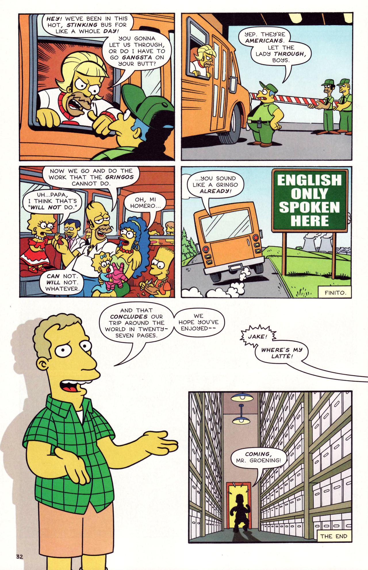 Read online Simpsons Comics comic -  Issue #131 - 28