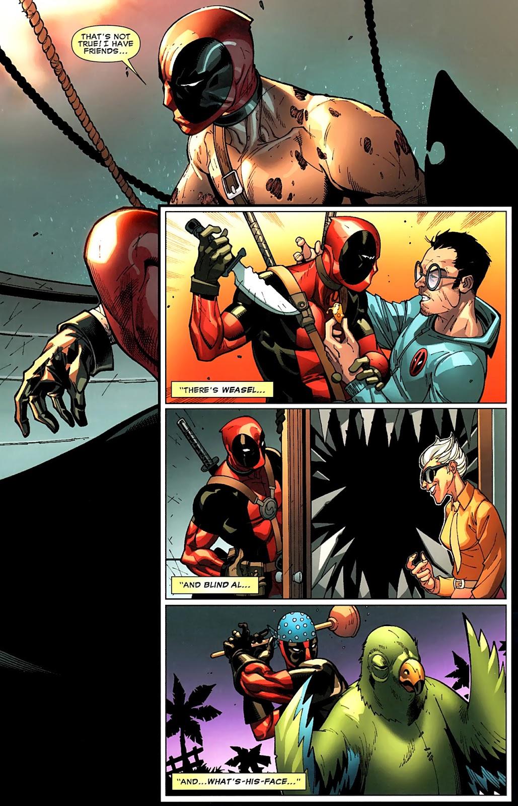 Read online Deadpool (2008) comic -  Issue #15 - 10