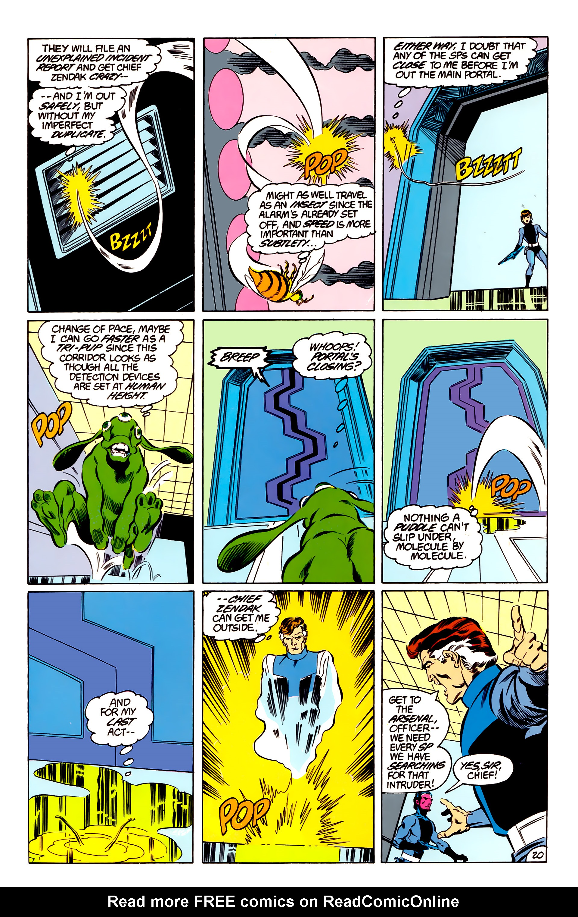 Legion of Super-Heroes (1984) 48 Page 20
