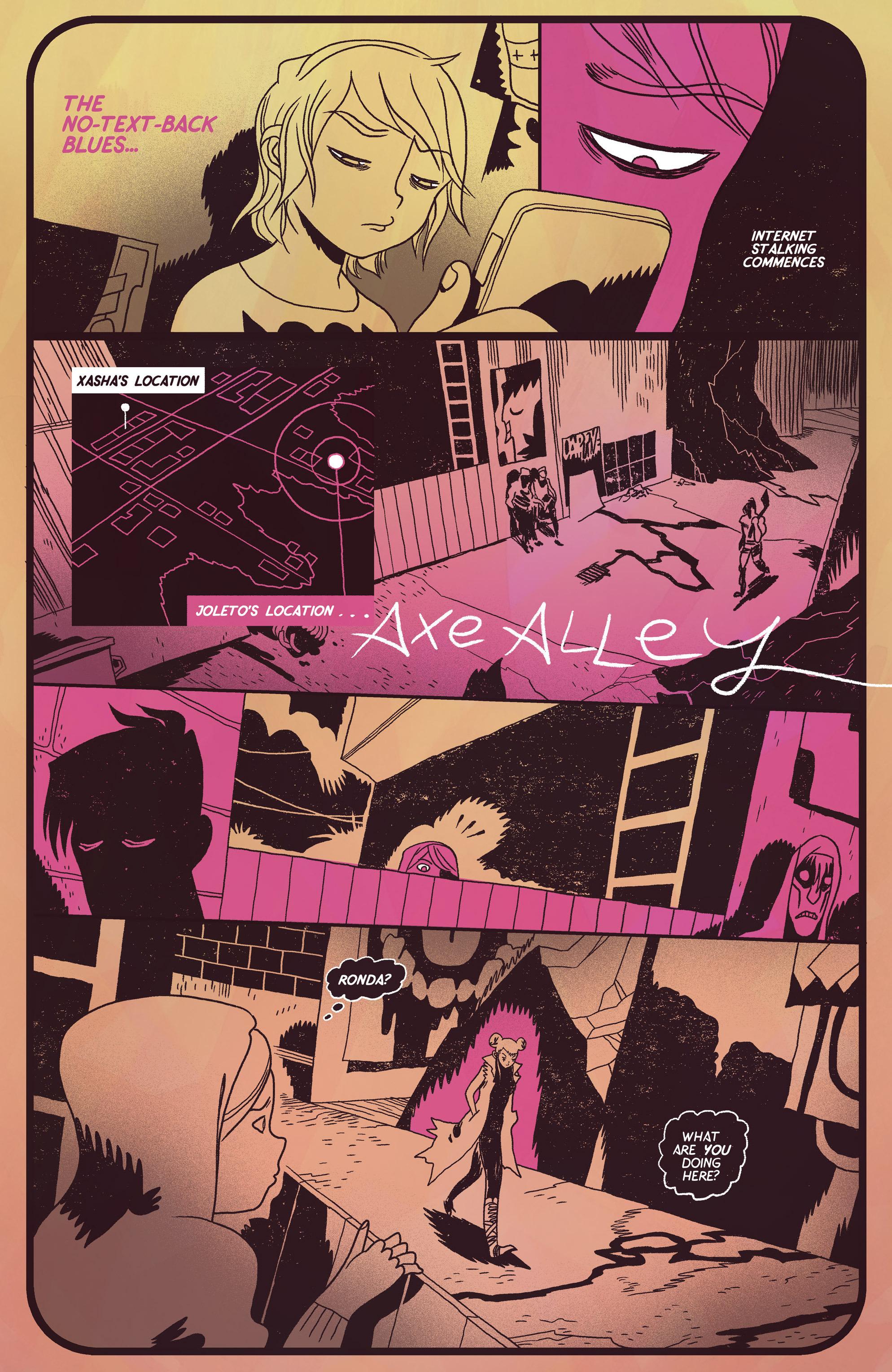 Read online Sun Bakery comic -  Issue #3 - 28