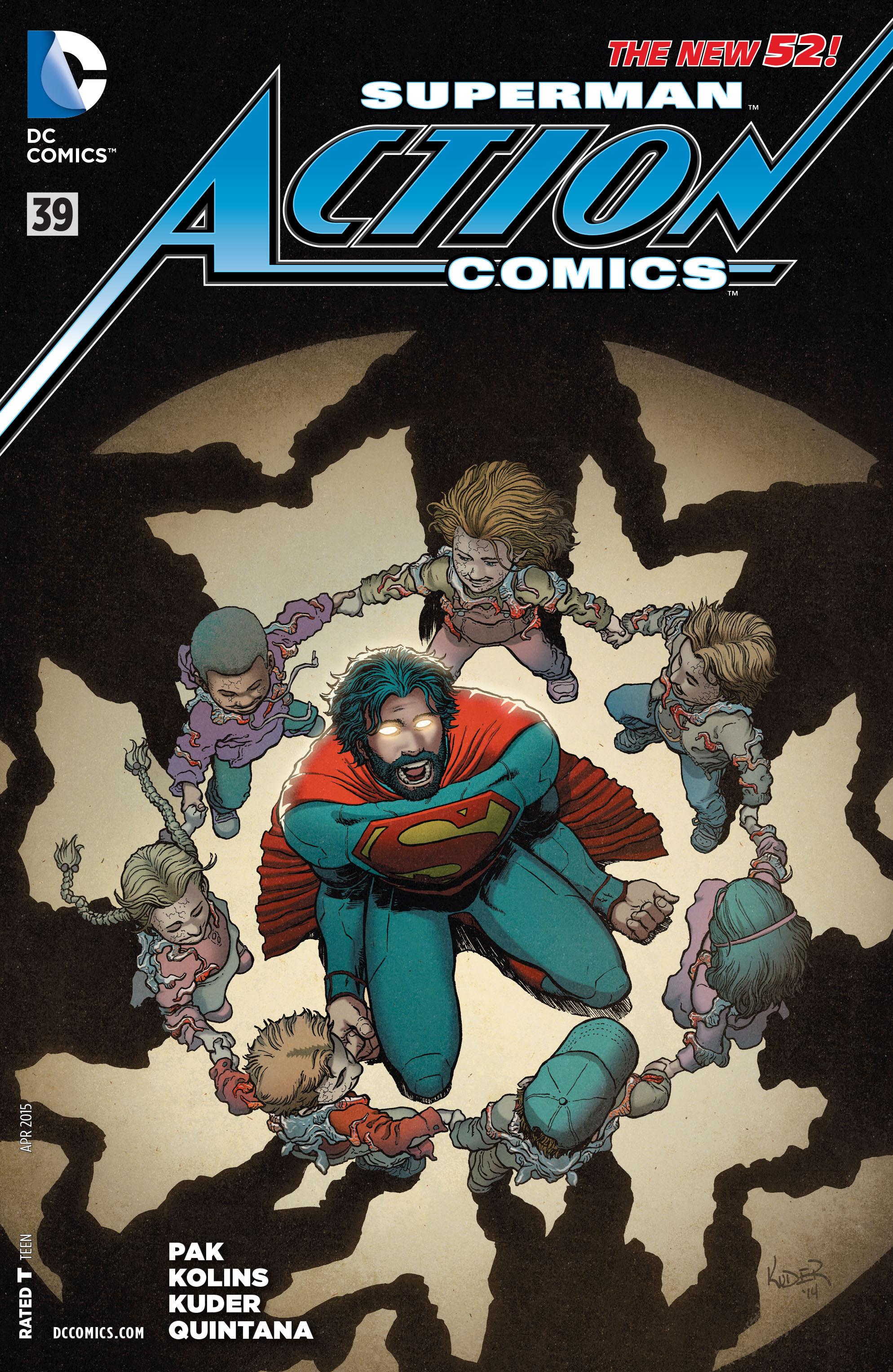 Action Comics (2011) 39 Page 1
