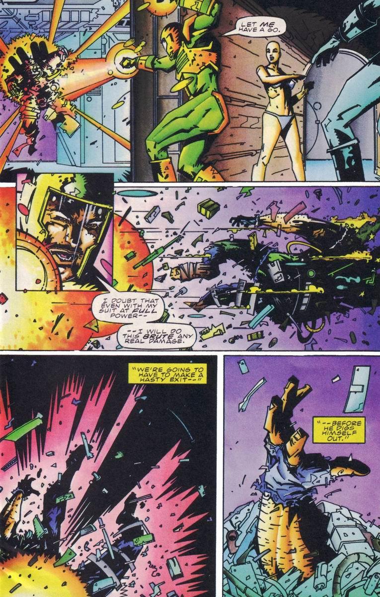 Read online Secret Weapons comic -  Issue #18 - 4