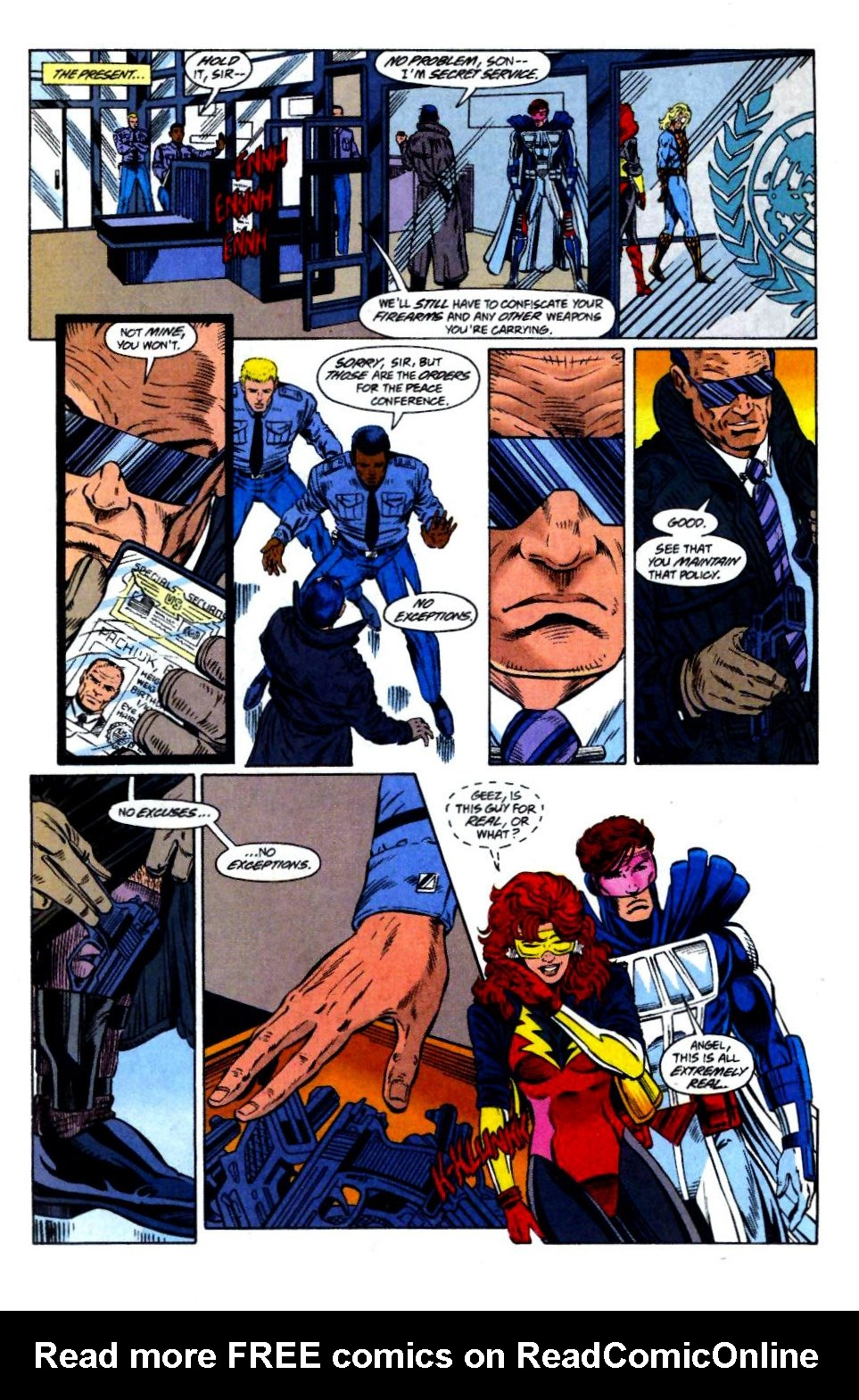 The New Warriors Issue #58 #62 - English 11