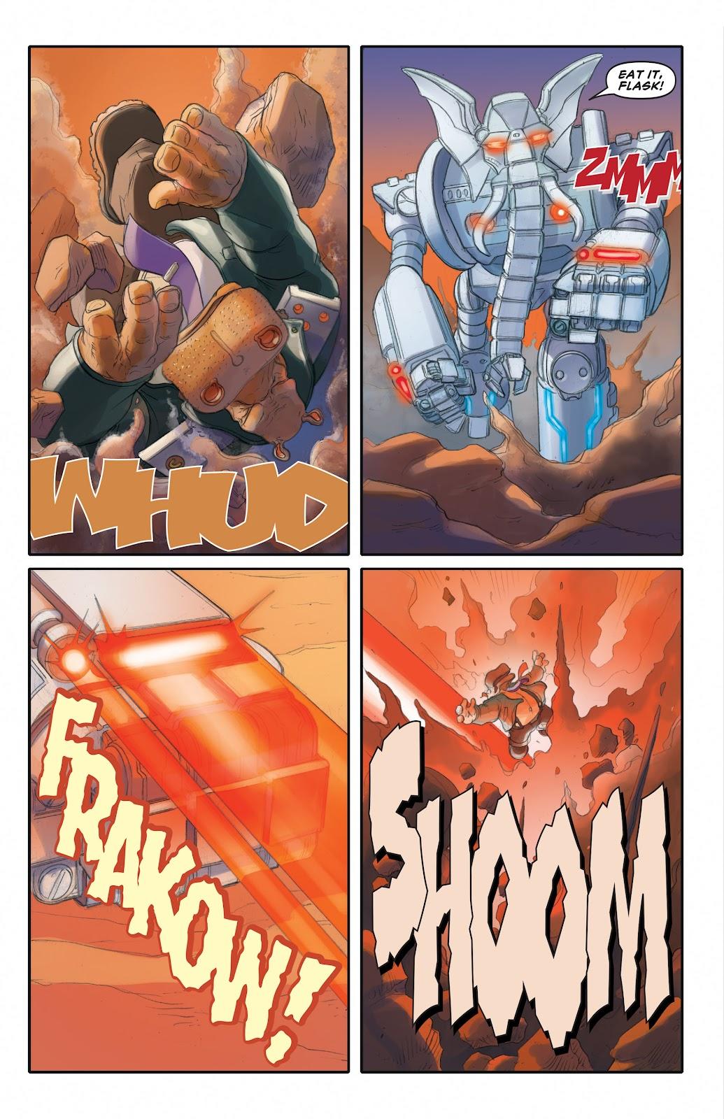 Read online Elephantmen 2261 Season Two: The Pentalion Job comic -  Issue # TPB - 78