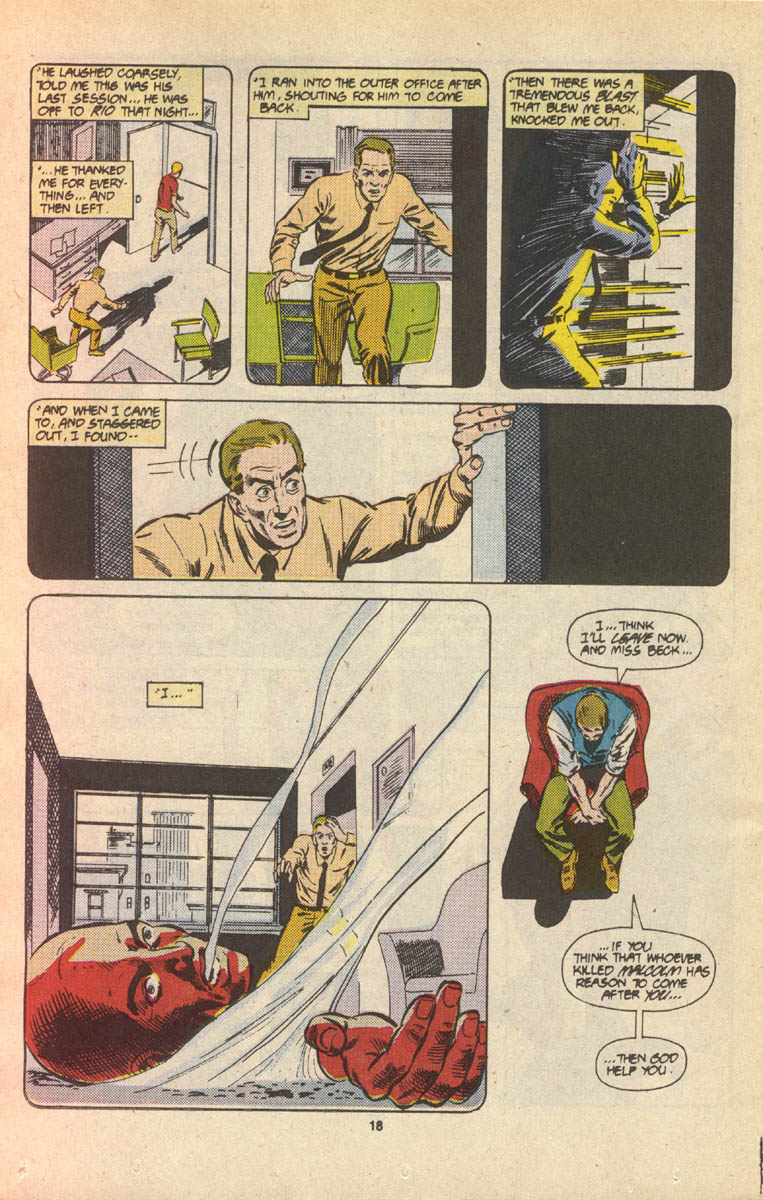 Read online Justice (1986) comic -  Issue #16 - 19
