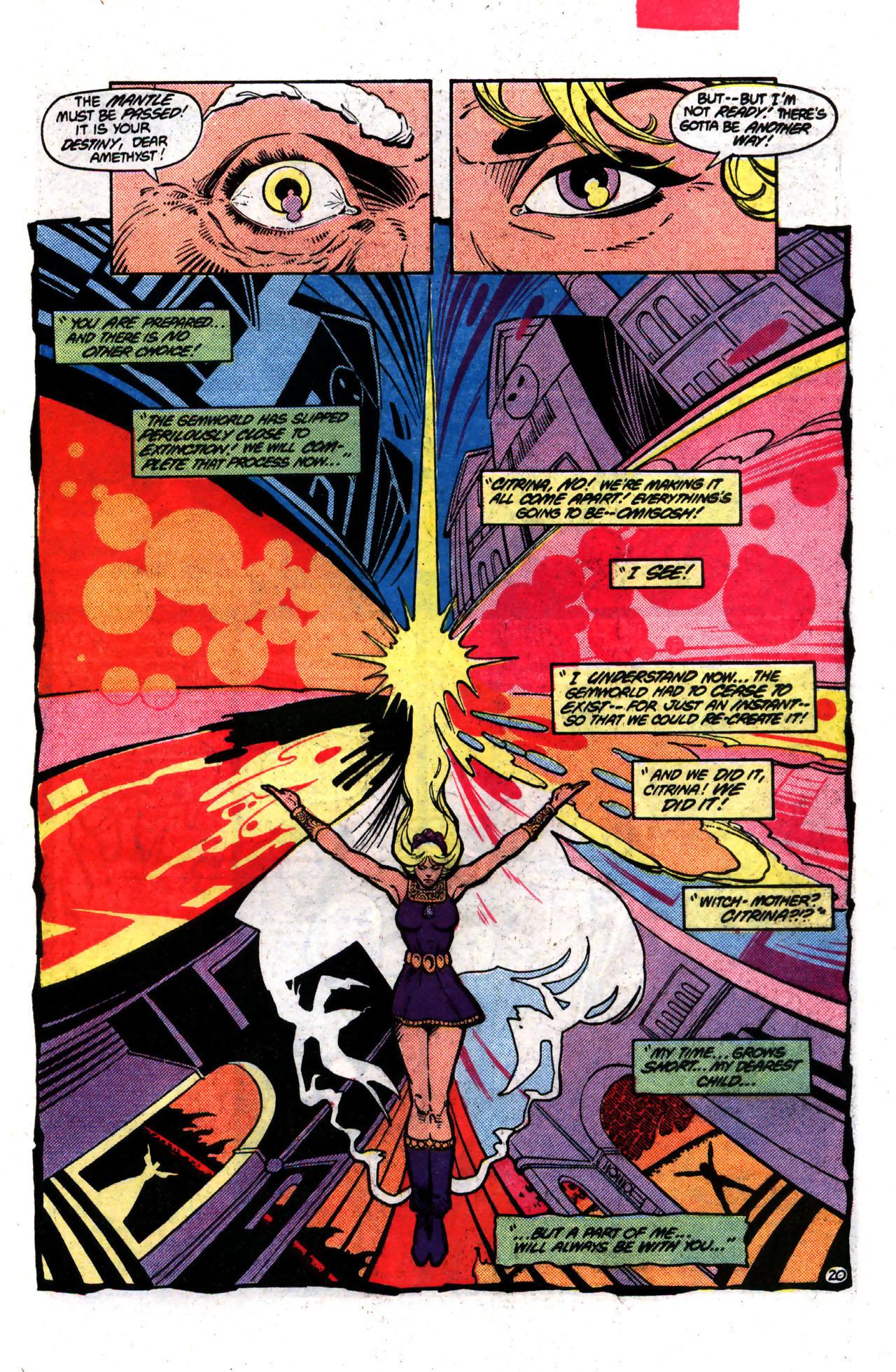 Read online Amethyst (1985) comic -  Issue #8 - 20