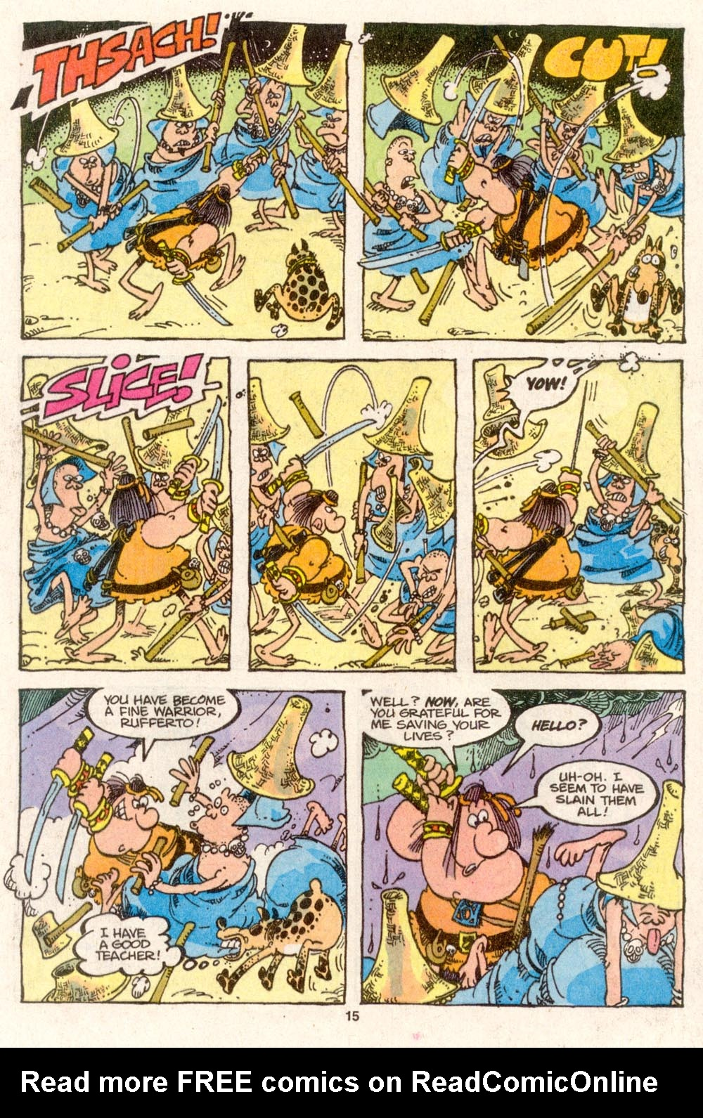Read online Sergio Aragonés Groo the Wanderer comic -  Issue #79 - 11