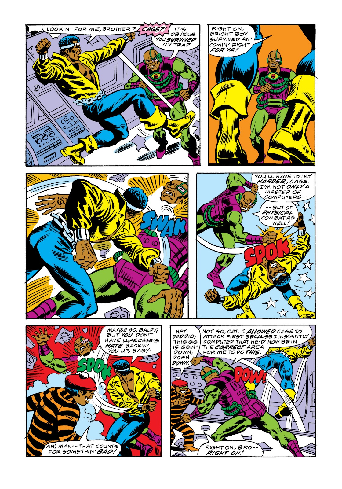 Read online Marvel Masterworks: Luke Cage, Power Man comic -  Issue # TPB 3 (Part 2) - 89
