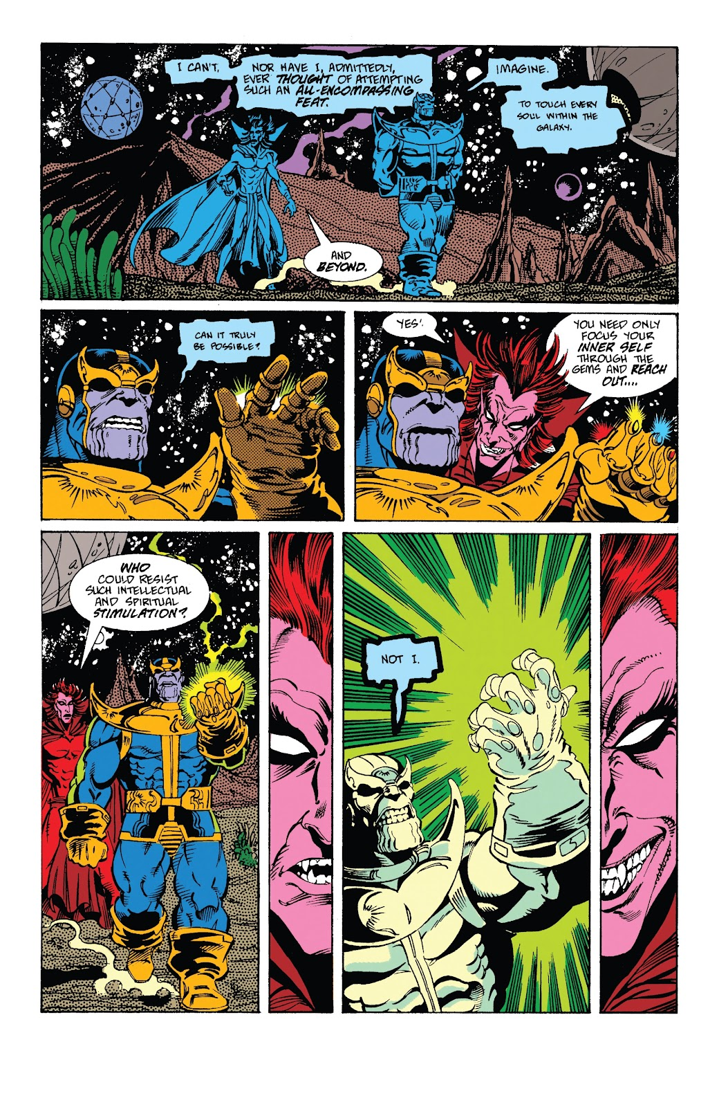 Read online Marvel Tales: Thanos comic -  Issue # Full - 40