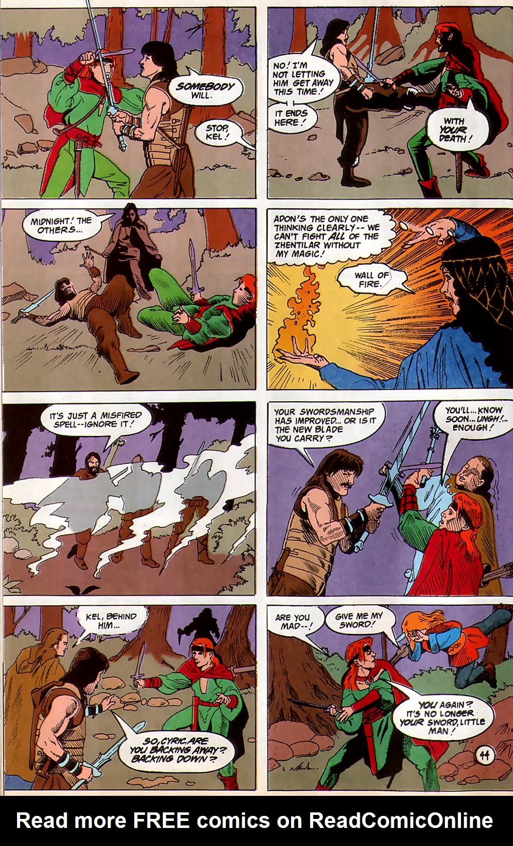 Read online Avatar comic -  Issue #3 - 46