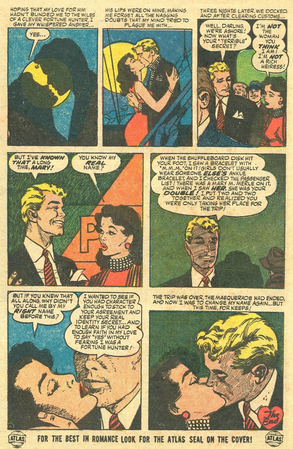 Love Romances (1949) issue 48 - Page 8