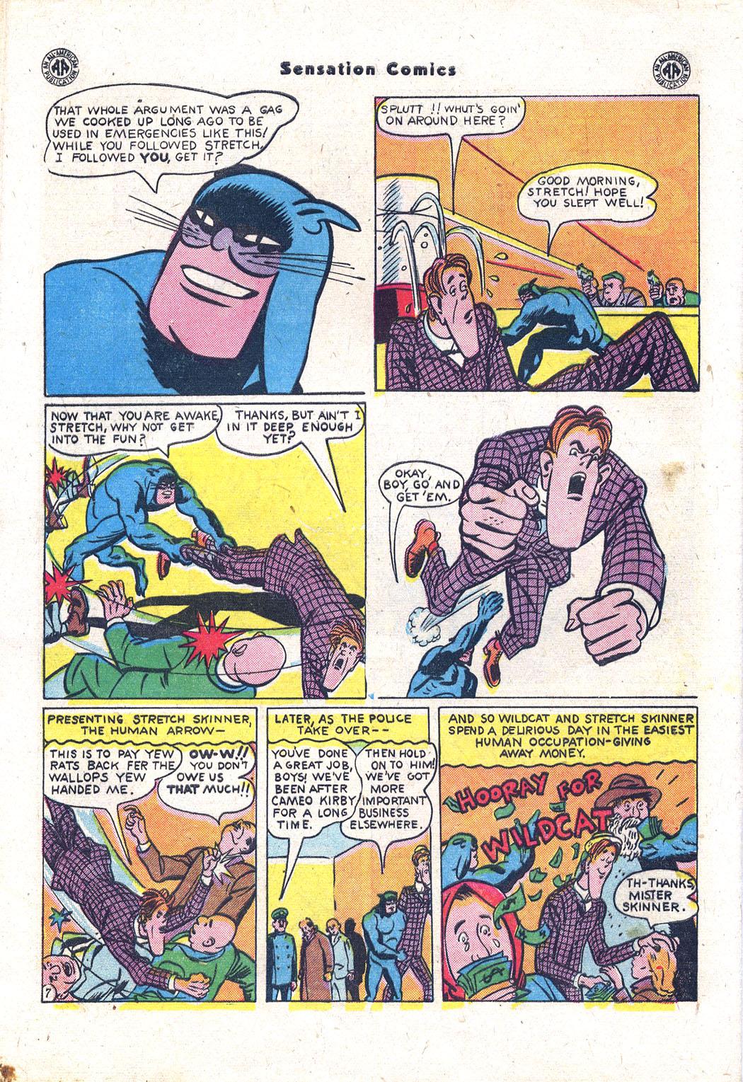 Read online Sensation (Mystery) Comics comic -  Issue #43 - 47
