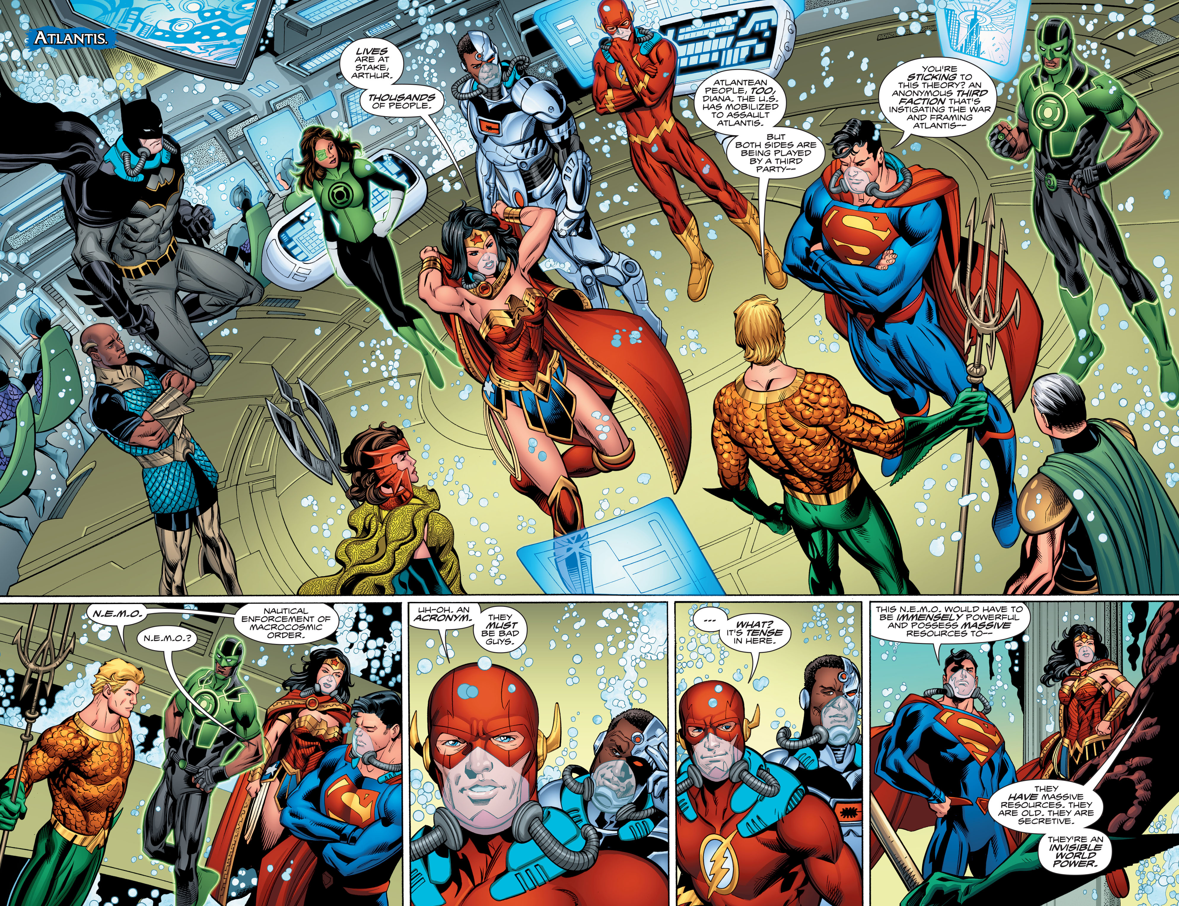 Read online Aquaman (2016) comic -  Issue #13 - 5