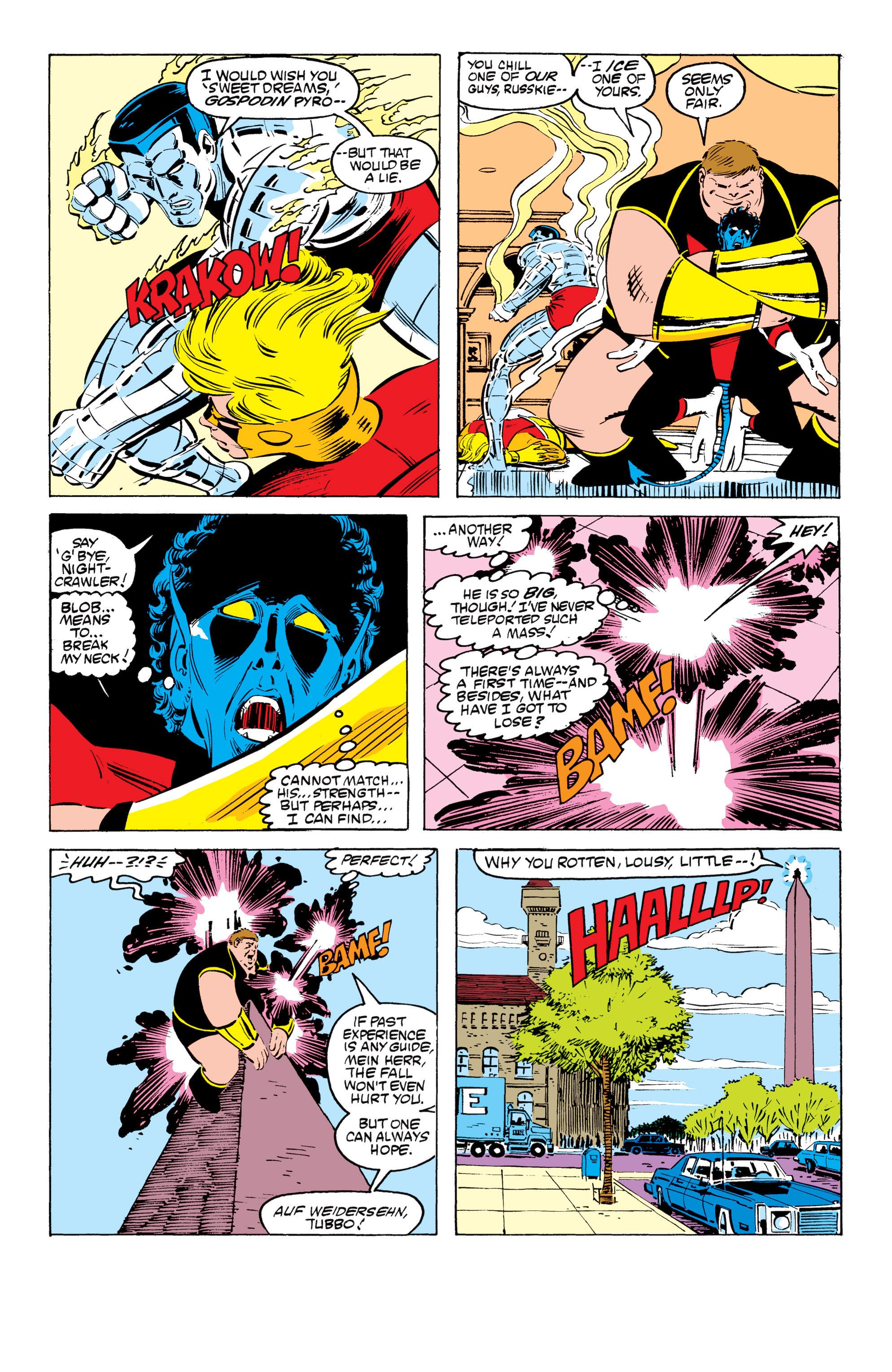 Read online Uncanny X-Men (1963) comic -  Issue #199 - 21