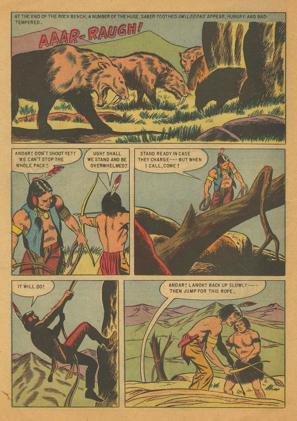 Read online Turok, Son of Stone comic -  Issue #4 - 22