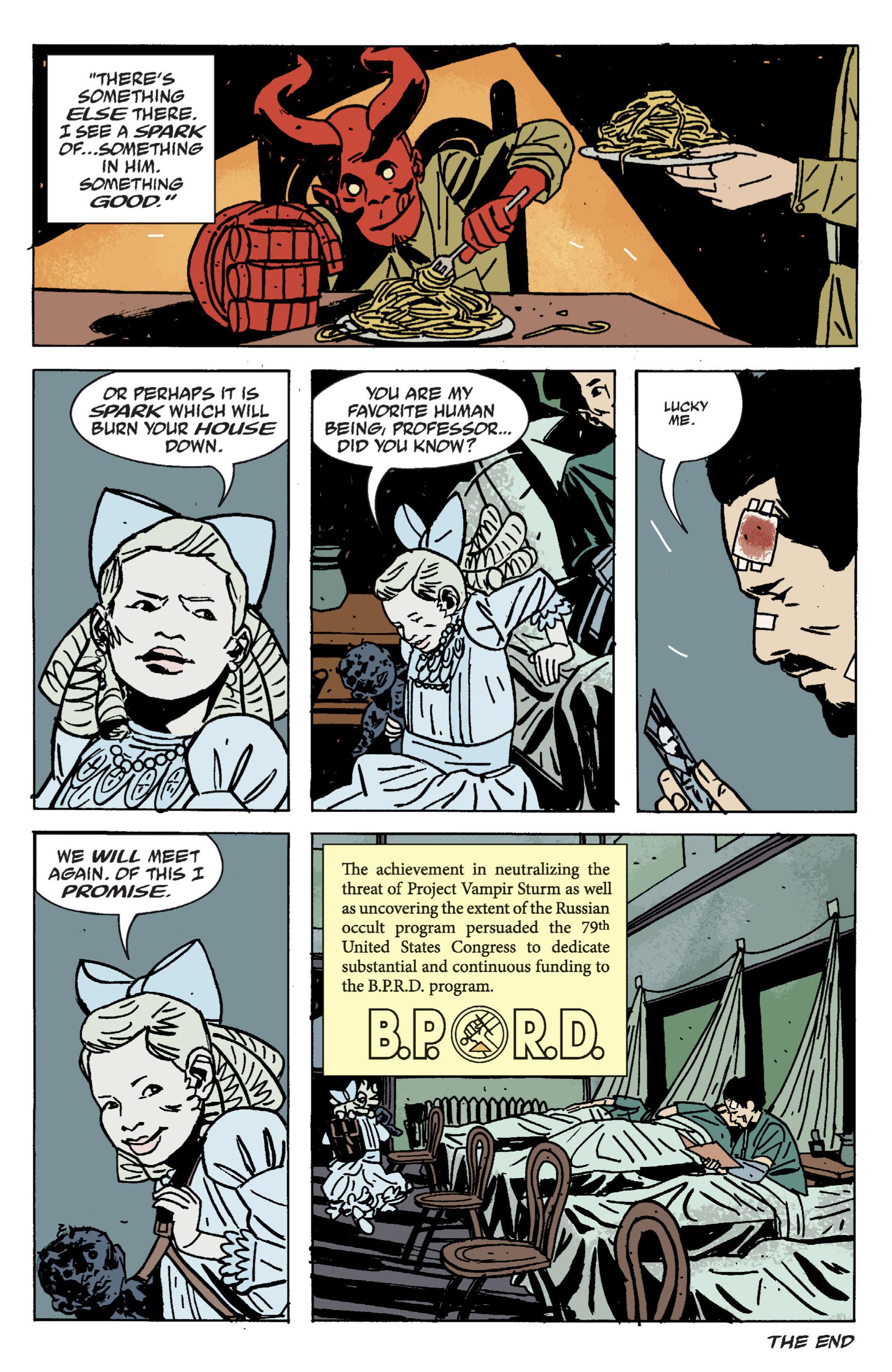 Read online B.P.R.D. (2003) comic -  Issue # TPB 9 - 135