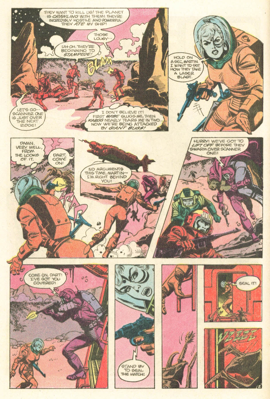 Read online Atari Force (1984) comic -  Issue #15 - 4