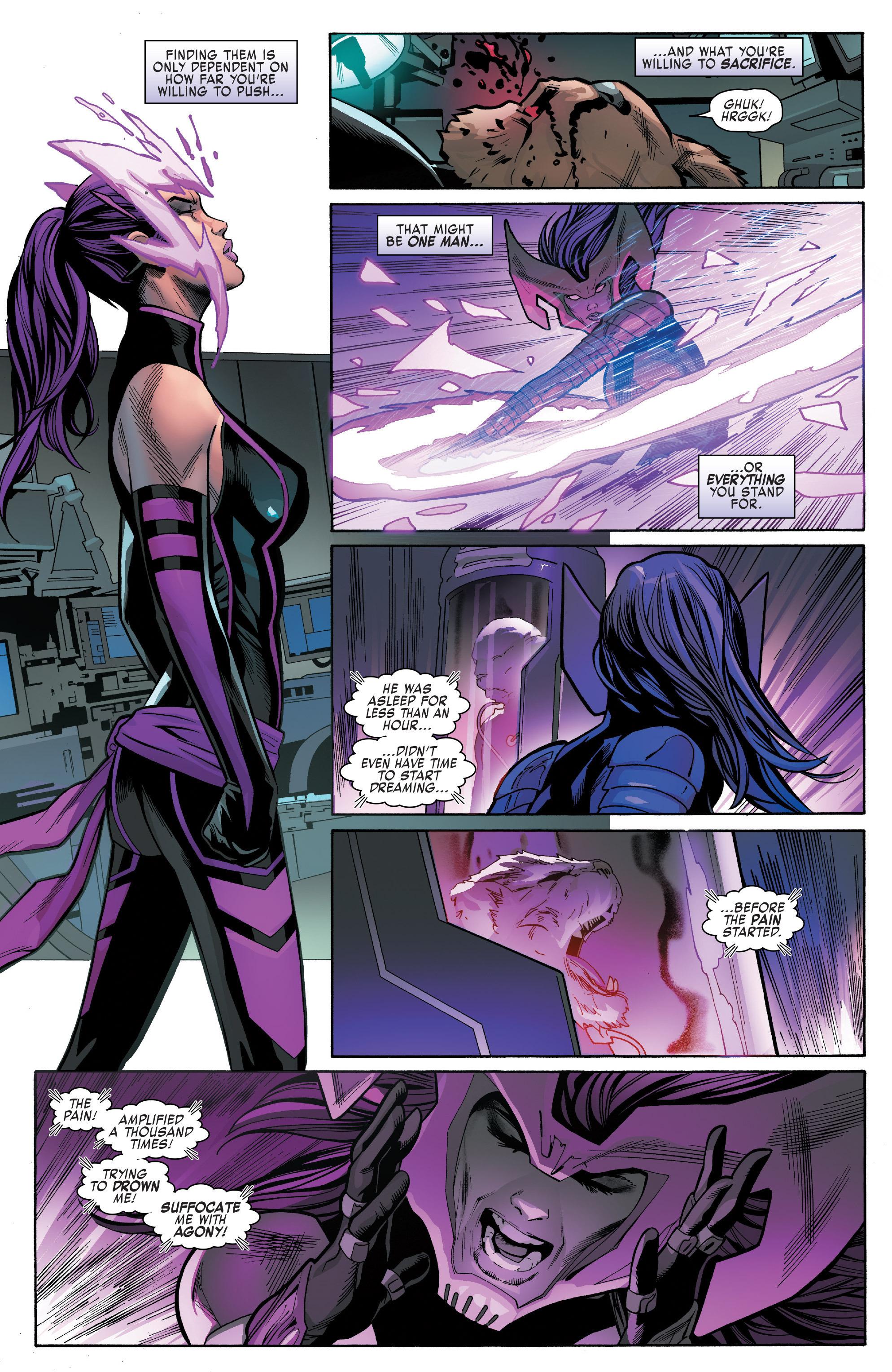 Read online Uncanny X-Men (2016) comic -  Issue #13 - 18