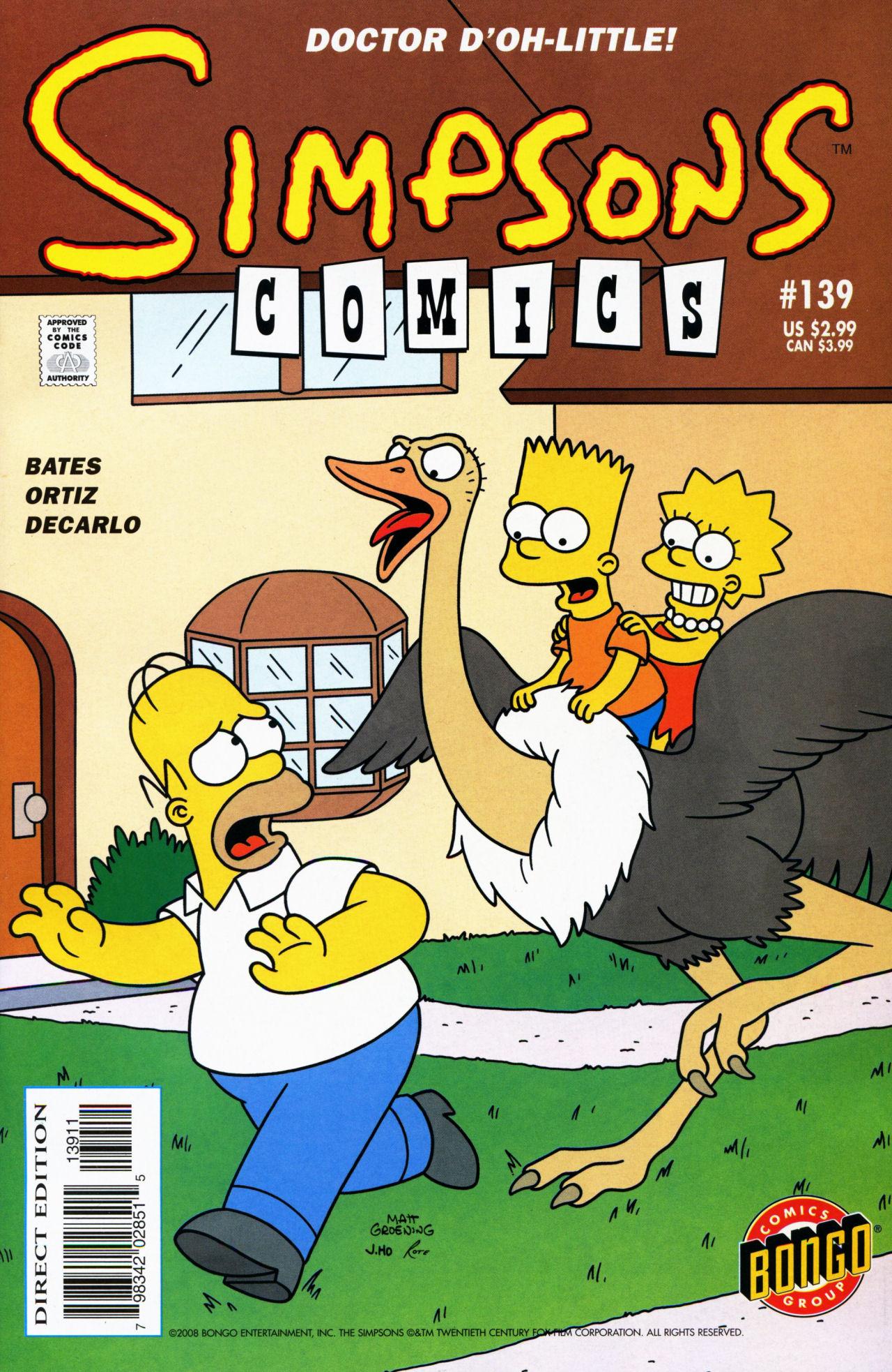 Read online Simpsons Comics comic -  Issue #139 - 1