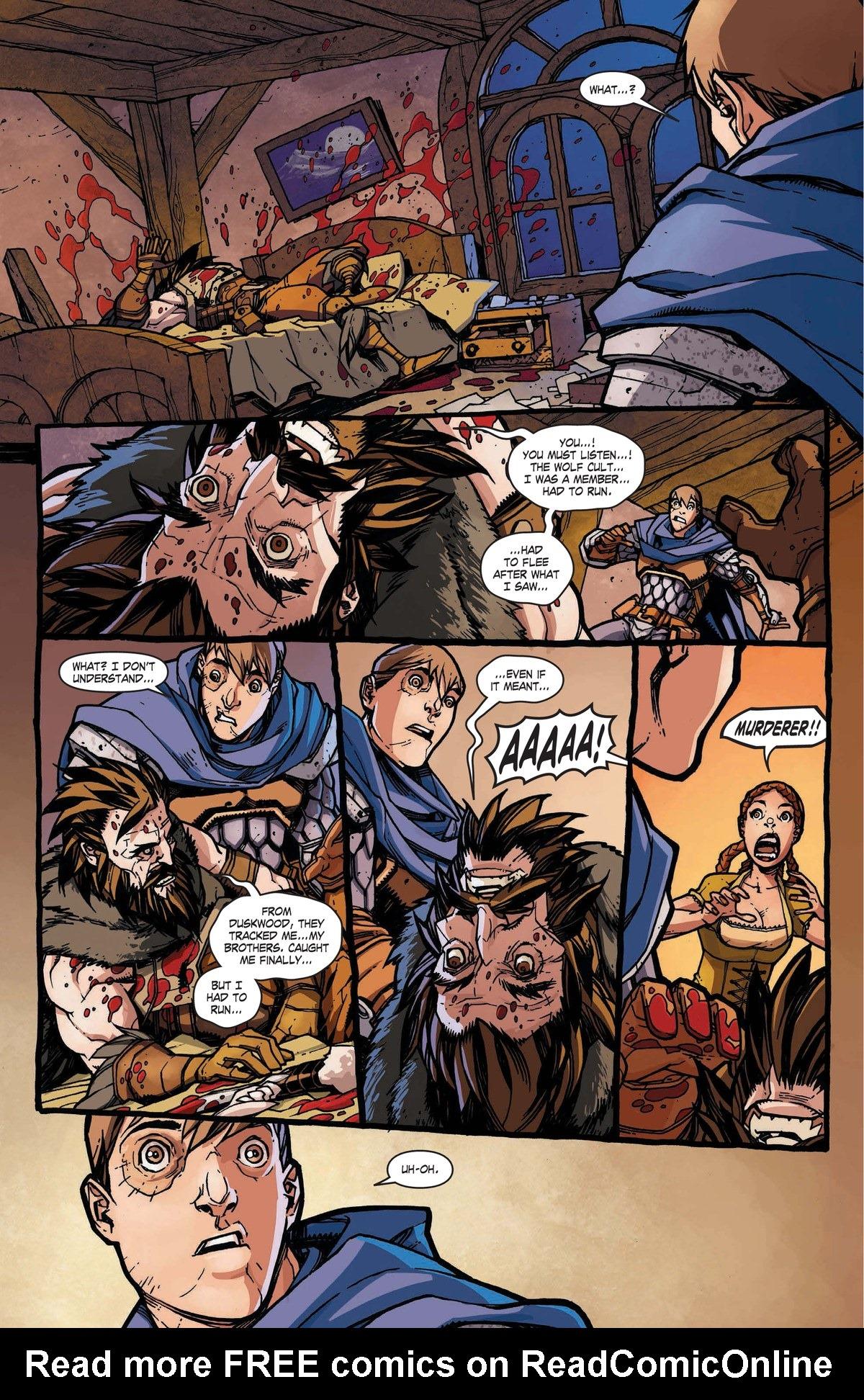 Read online World of Warcraft: Dark Riders comic -  Issue # Full - 21