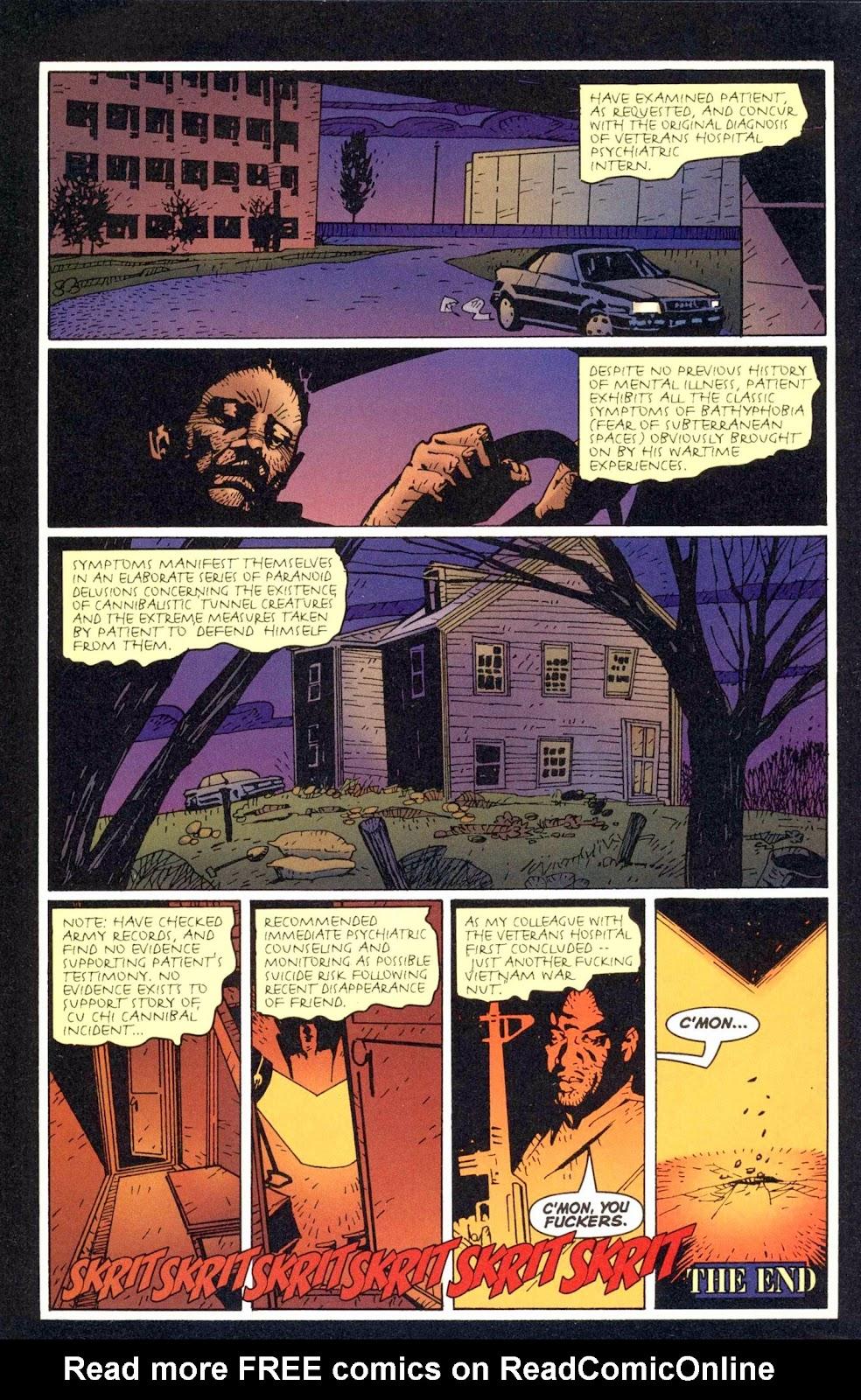 Read online Weird War Tales (1997) comic -  Issue #1 - 26