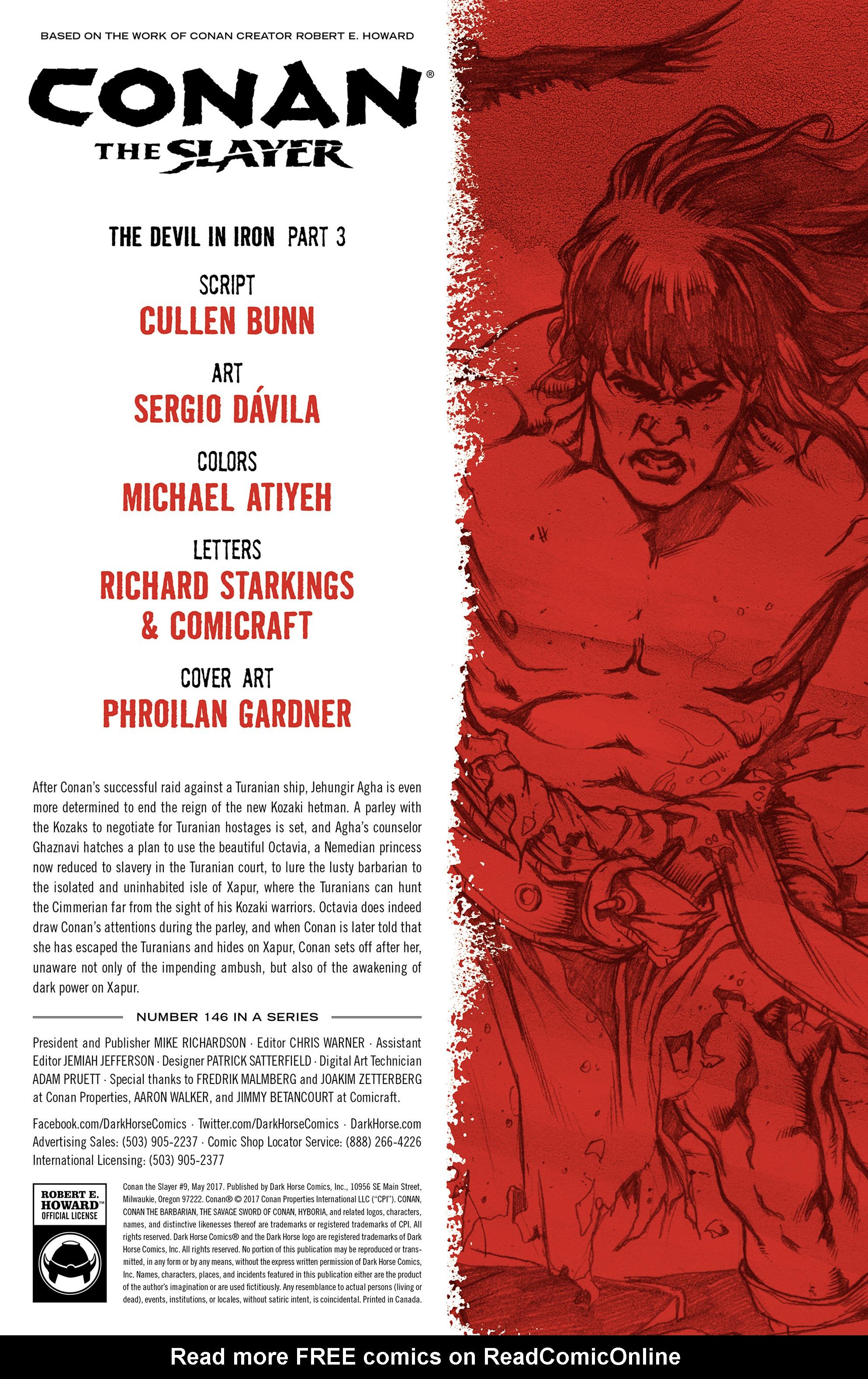 Read online Conan The Slayer comic -  Issue #9 - 2