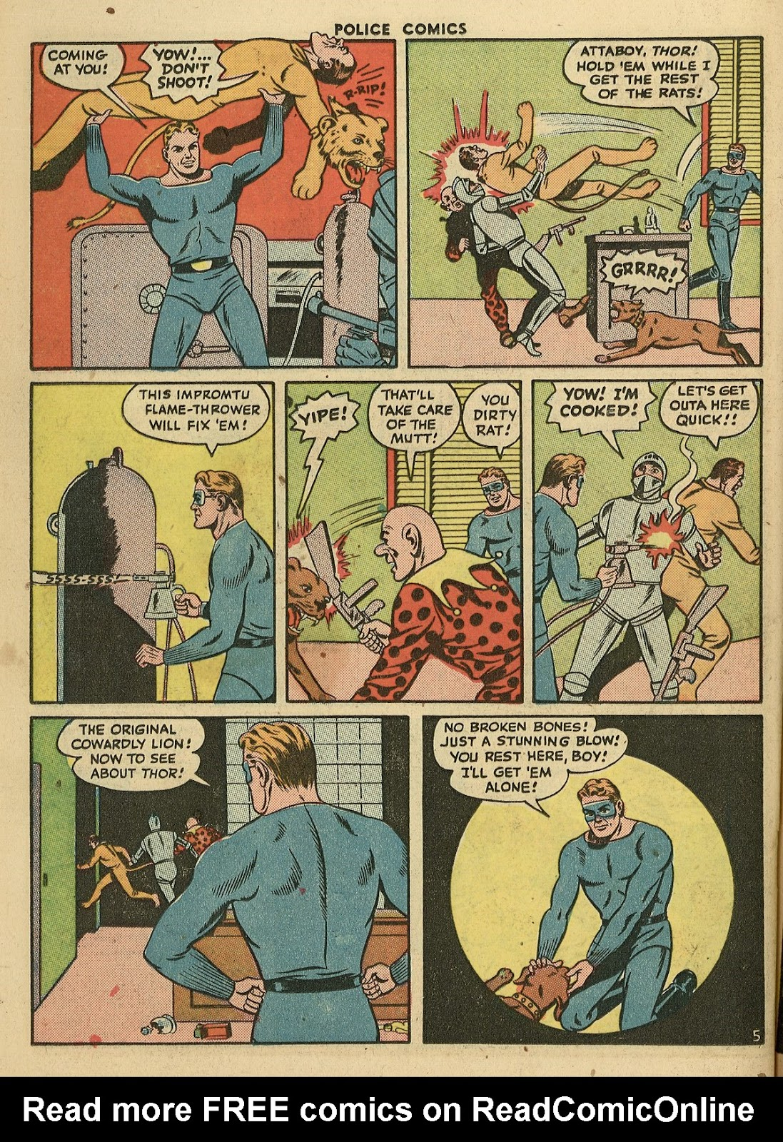 Police Comics issue 45 - Page 42