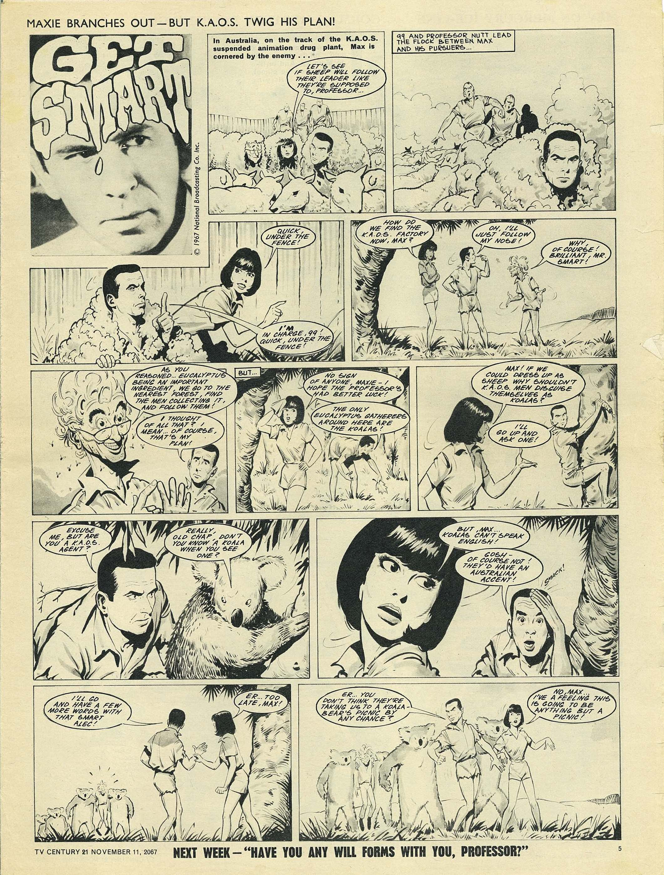 Read online TV Century 21 (TV 21) comic -  Issue #147 - 5