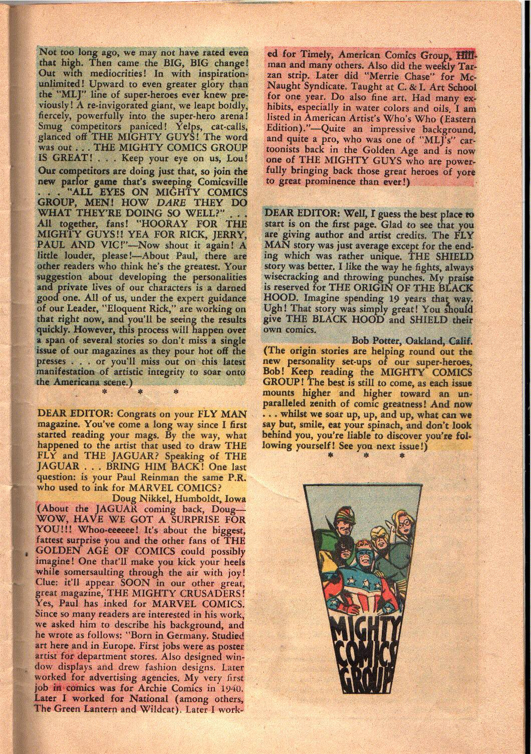 The Mighty Crusaders (1965) Issue #4 #4 - English 29