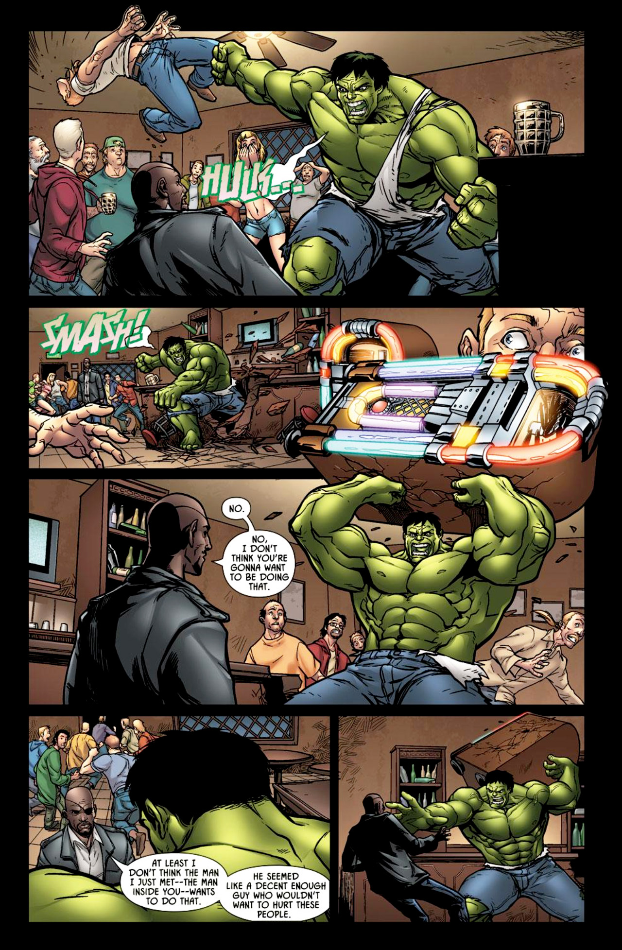 Read online Incredible Hulk: The Fury Files comic -  Issue #2 - 5